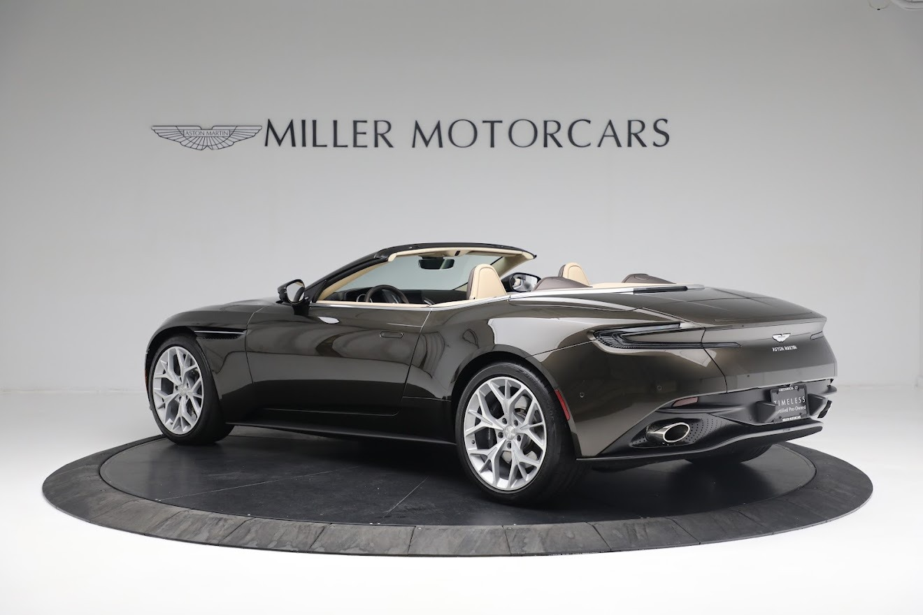 New 2019 Aston Martin DB11 V8 Convertible For Sale In Greenwich, CT 2410_p3