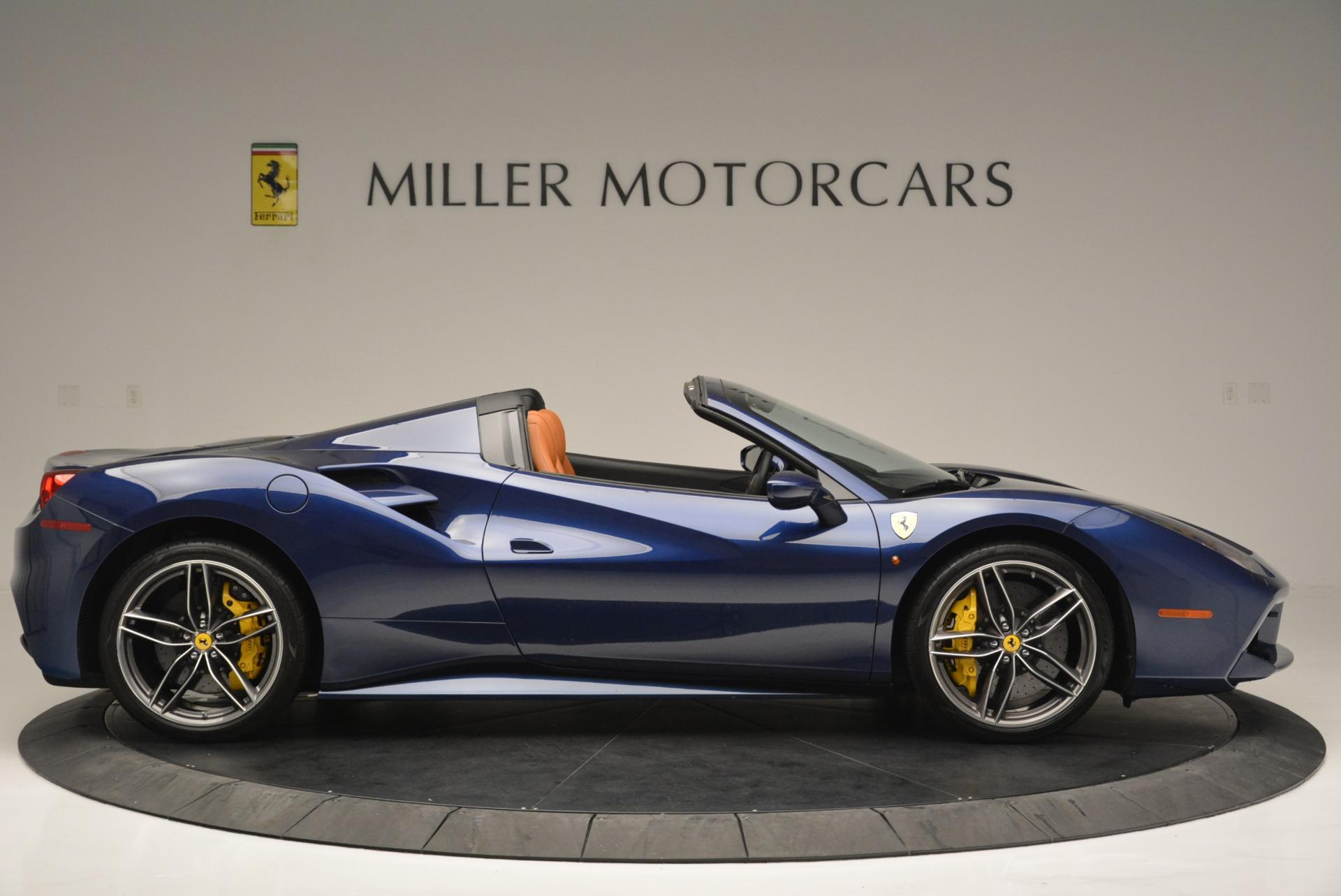 Used 2016 Ferrari 488 Spider  For Sale In Greenwich, CT 2411_p9