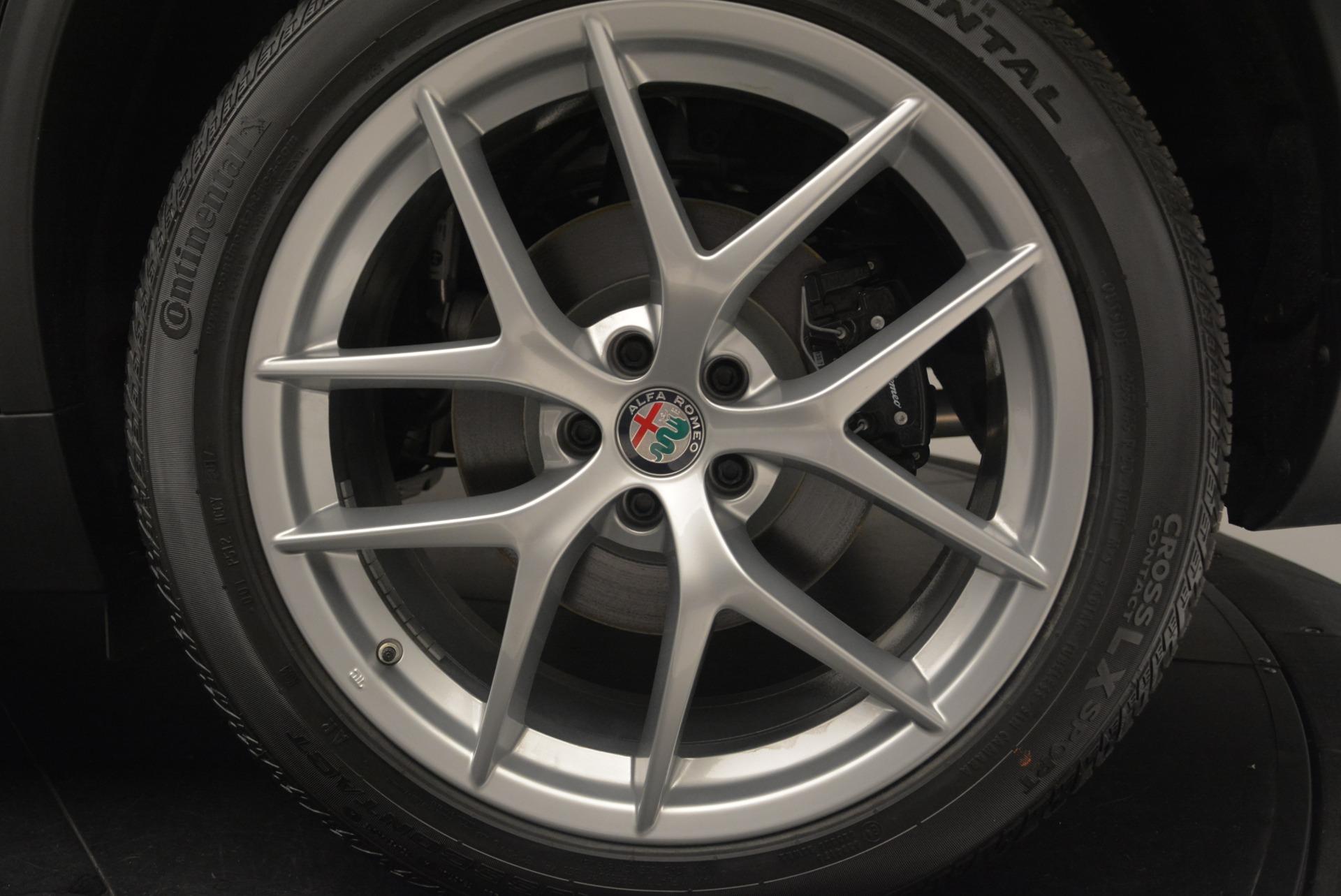 New 2018 Alfa Romeo Stelvio Ti Q4 For Sale In Greenwich, CT 2418_p8