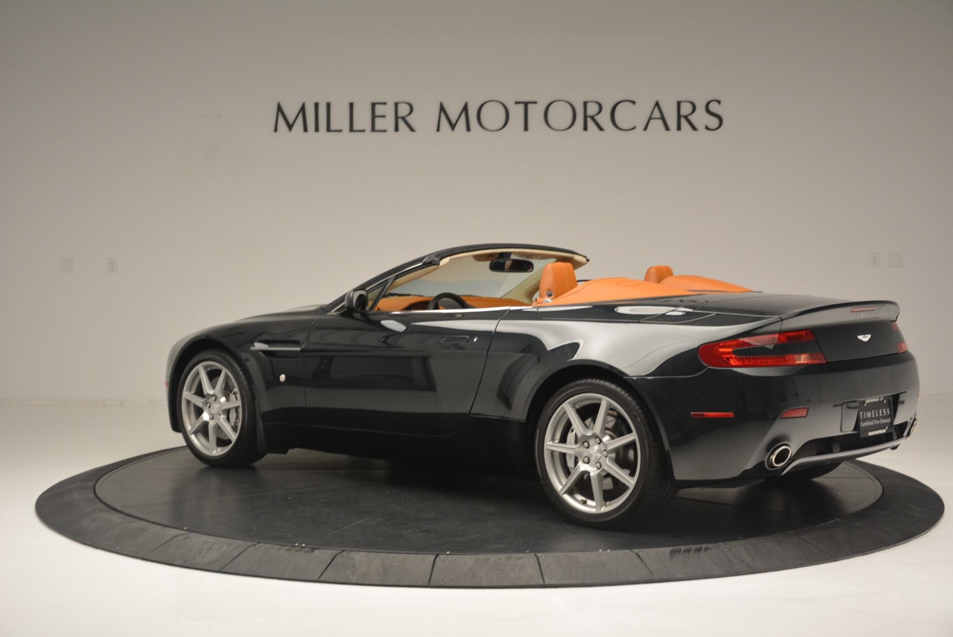 Used 2008 Aston Martin V8 Vantage Roadster For Sale In Greenwich, CT 2422_p4
