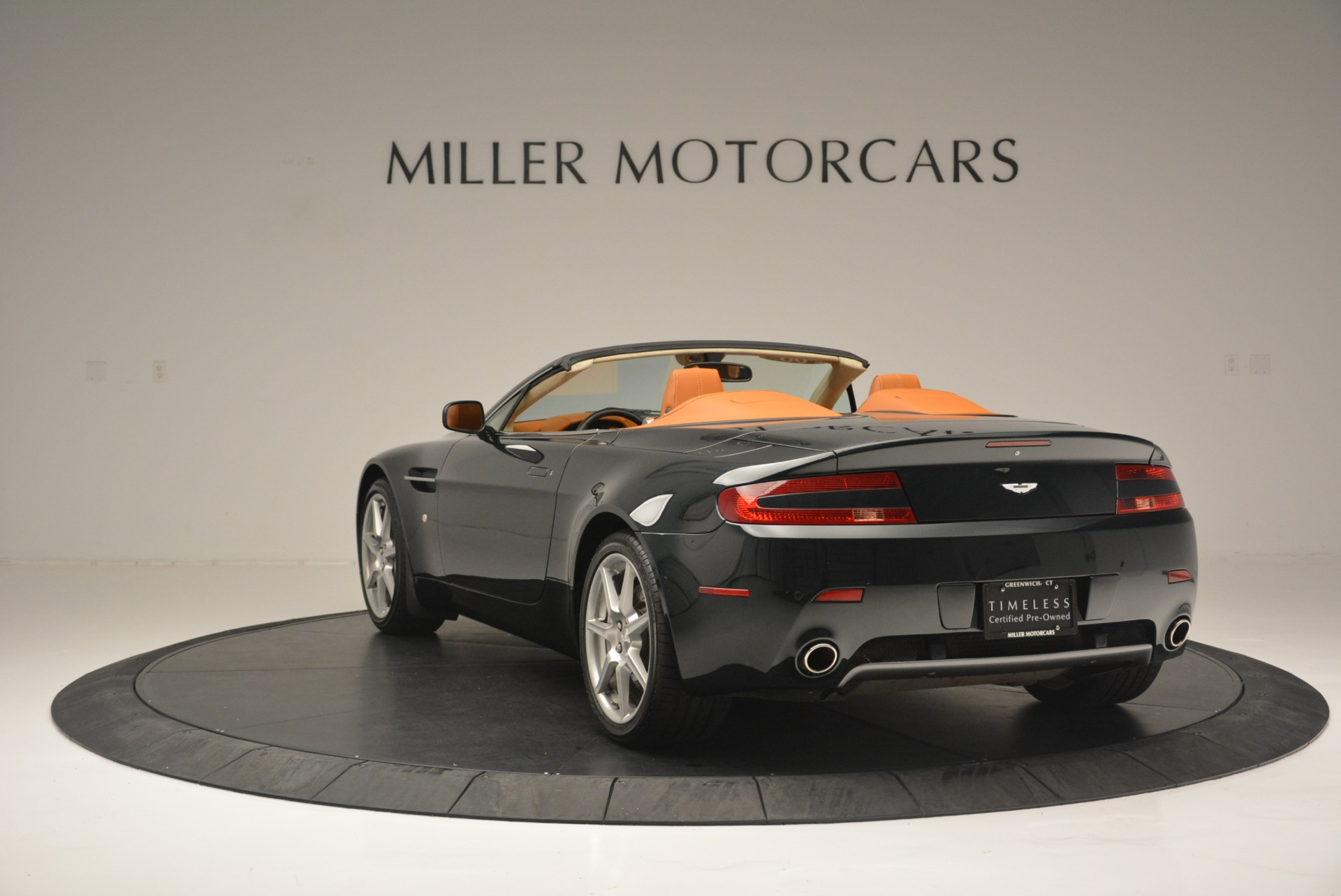 Used 2008 Aston Martin V8 Vantage Roadster For Sale In Greenwich, CT 2422_p5