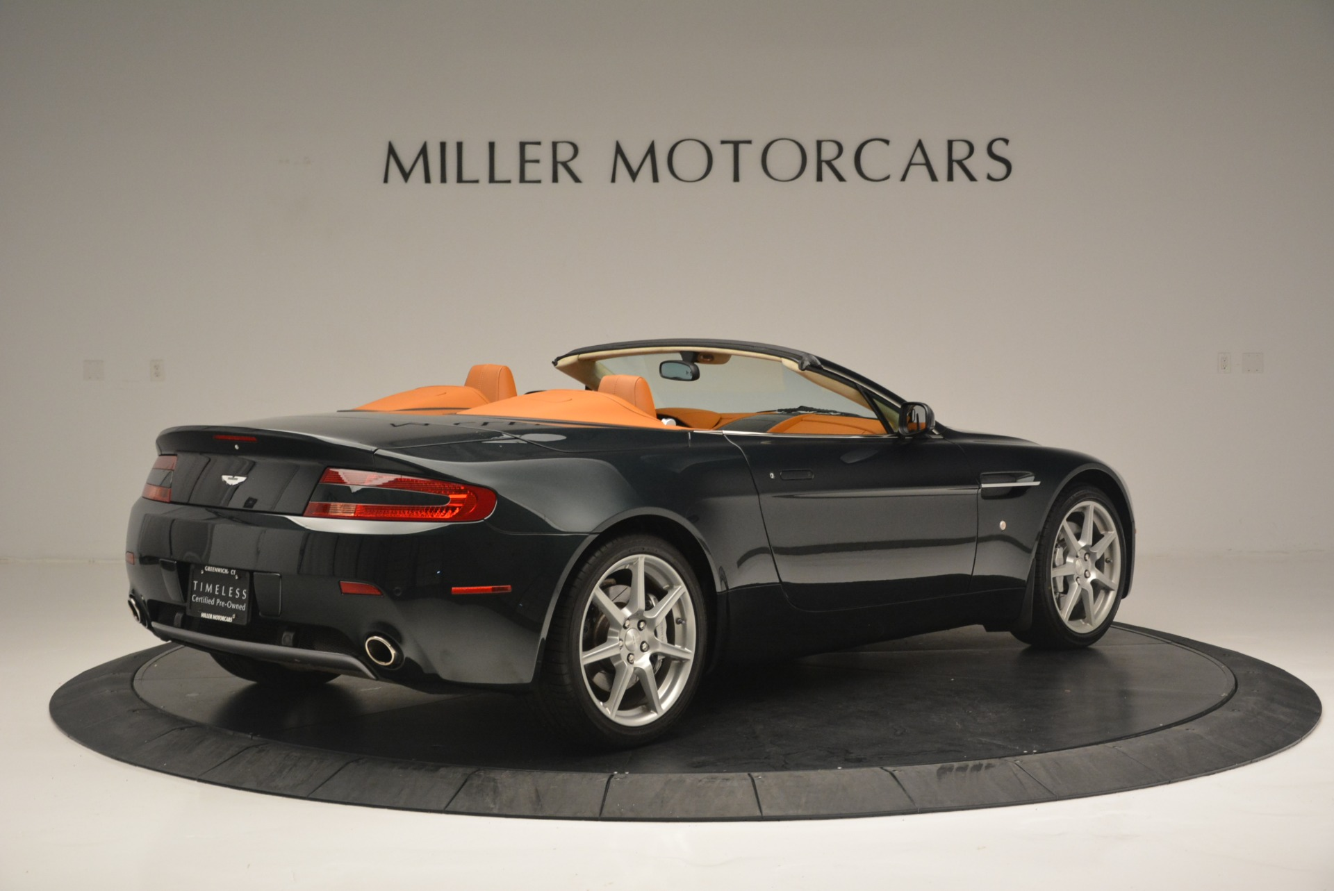 Used 2008 Aston Martin V8 Vantage Roadster For Sale In Greenwich, CT 2422_p8