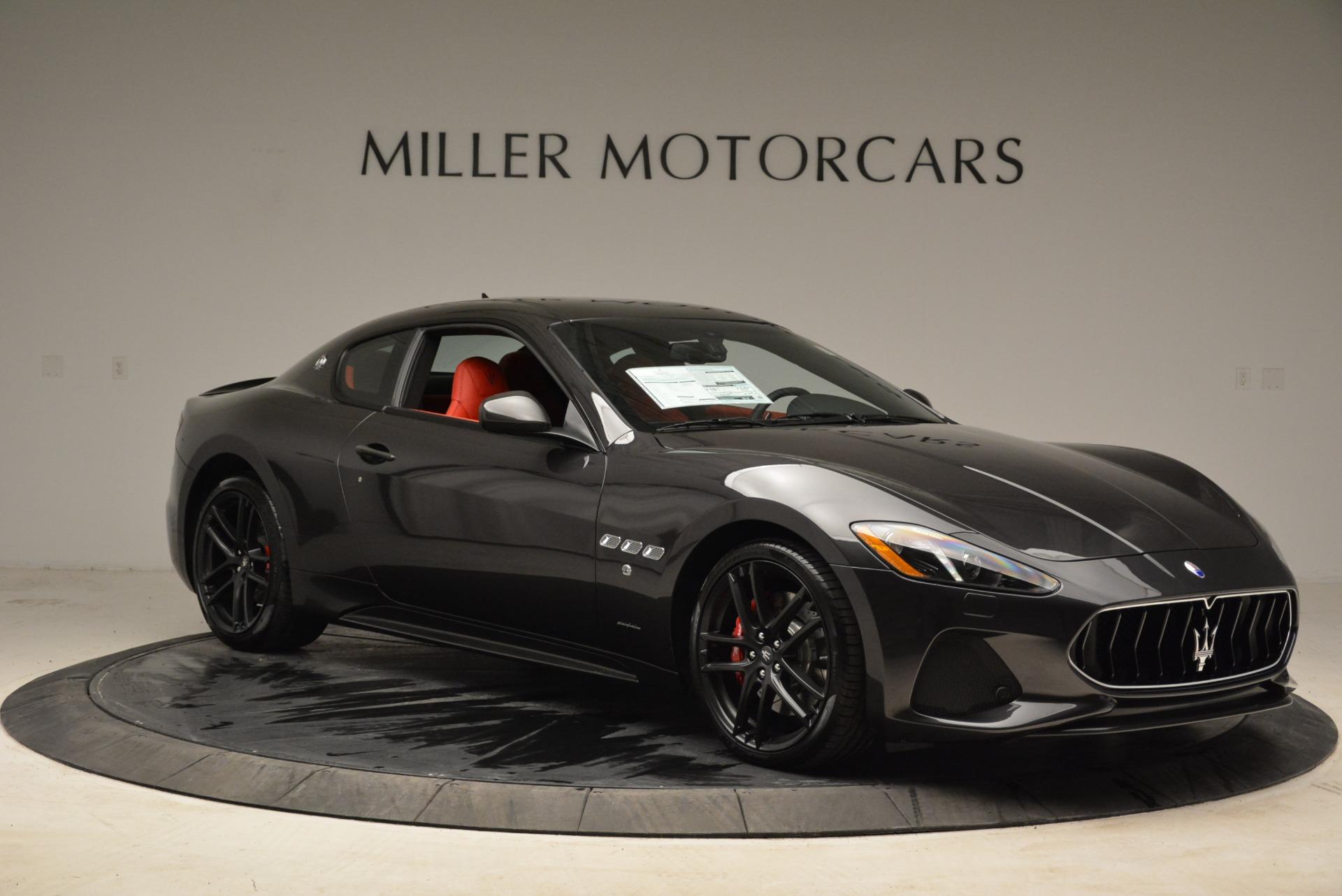 New 2018 Maserati GranTurismo Sport For Sale In Greenwich, CT 2426_p10