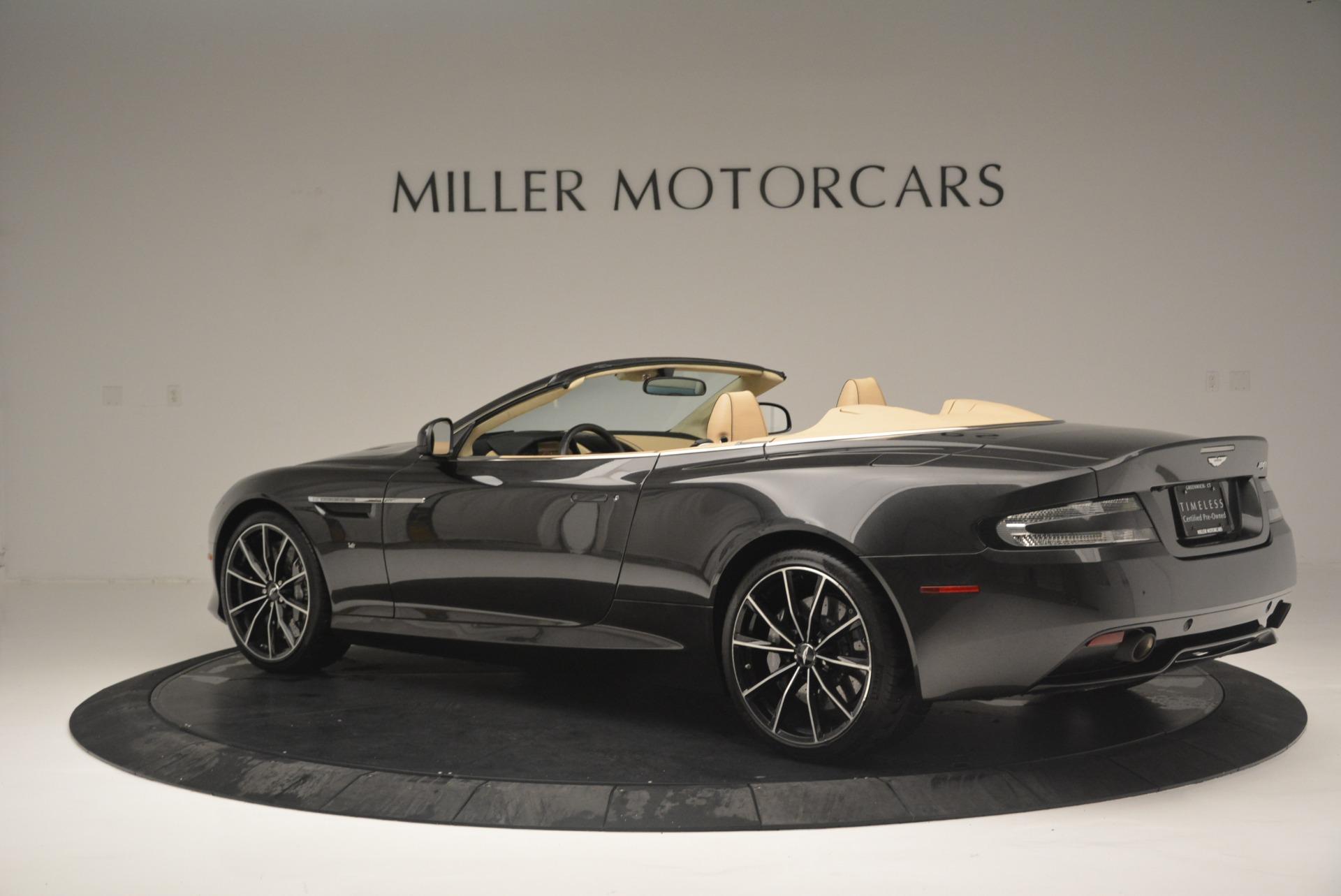 Used 2016 Aston Martin DB9 GT Volante For Sale In Greenwich, CT 2429_p4