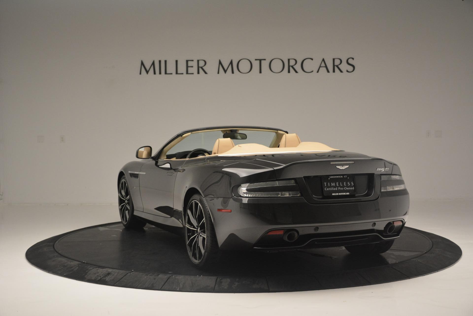 Used 2016 Aston Martin DB9 GT Volante For Sale In Greenwich, CT 2429_p5