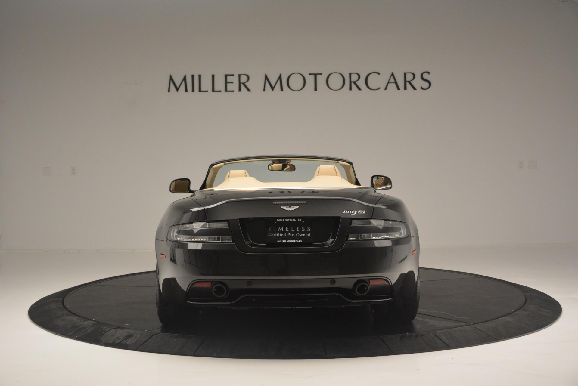 Used 2016 Aston Martin DB9 GT Volante For Sale In Greenwich, CT 2429_p6