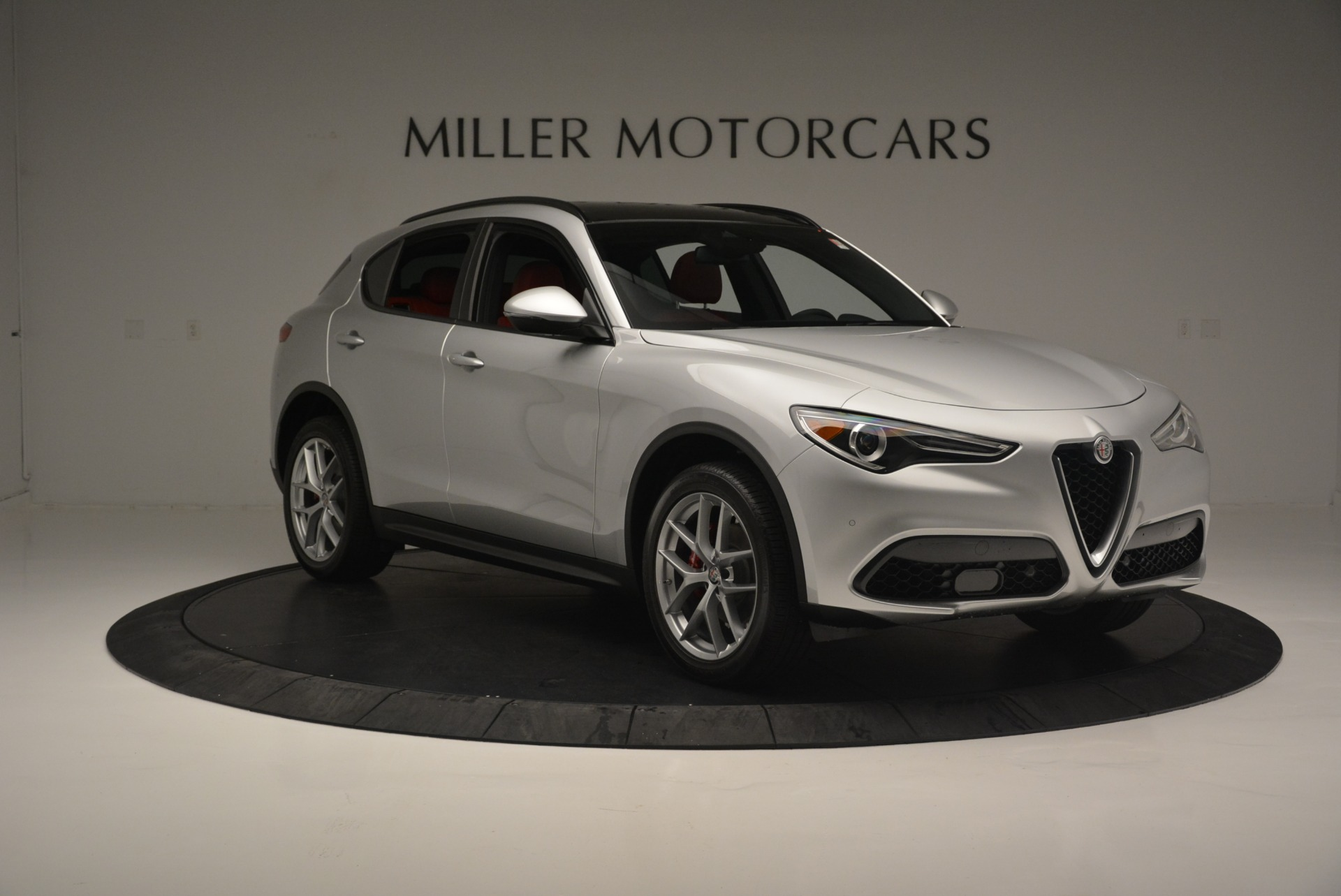 New 2018 Alfa Romeo Stelvio Ti Sport Q4 For Sale In Greenwich, CT 2434_p12