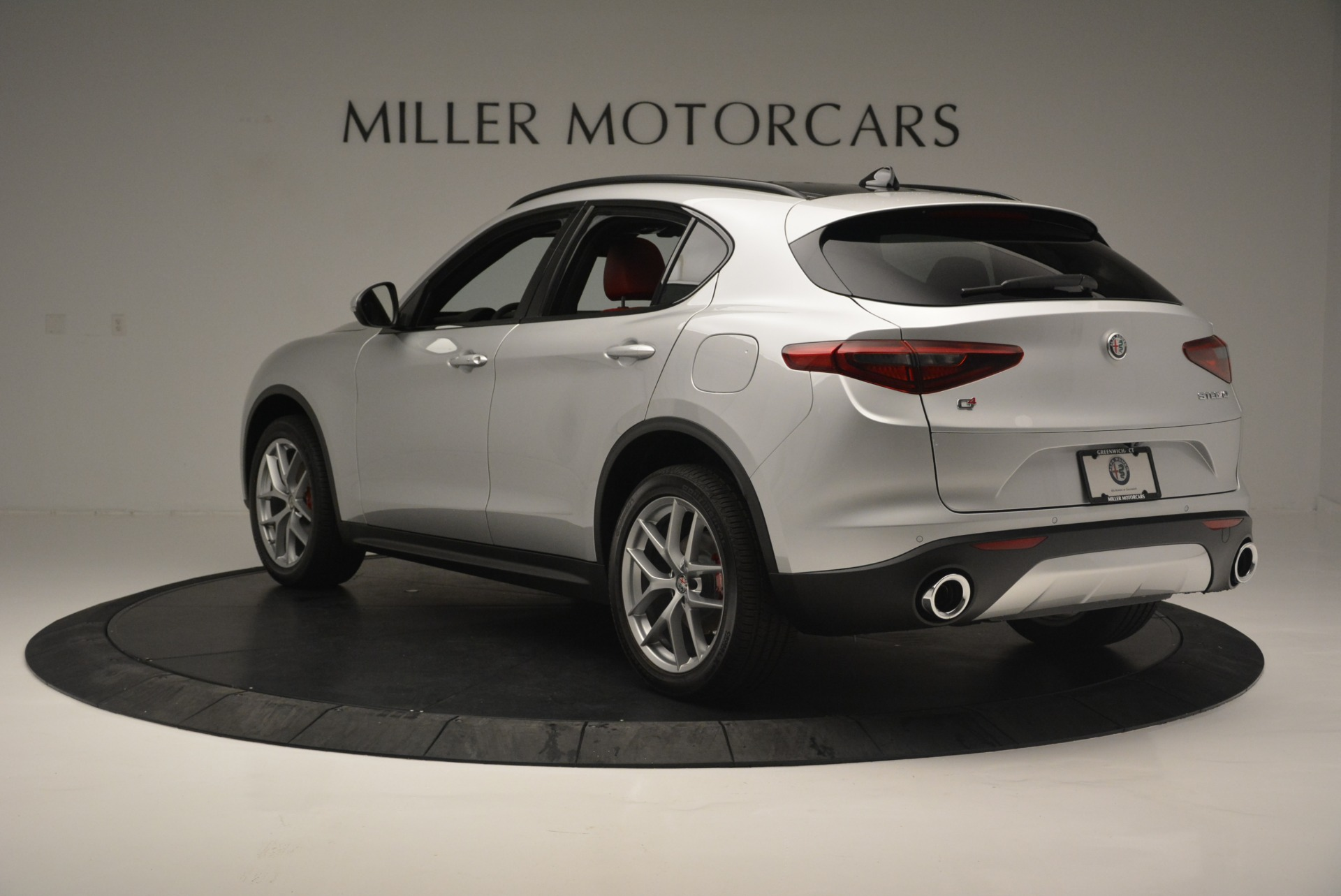 New 2018 Alfa Romeo Stelvio Ti Sport Q4 For Sale In Greenwich, CT 2434_p5