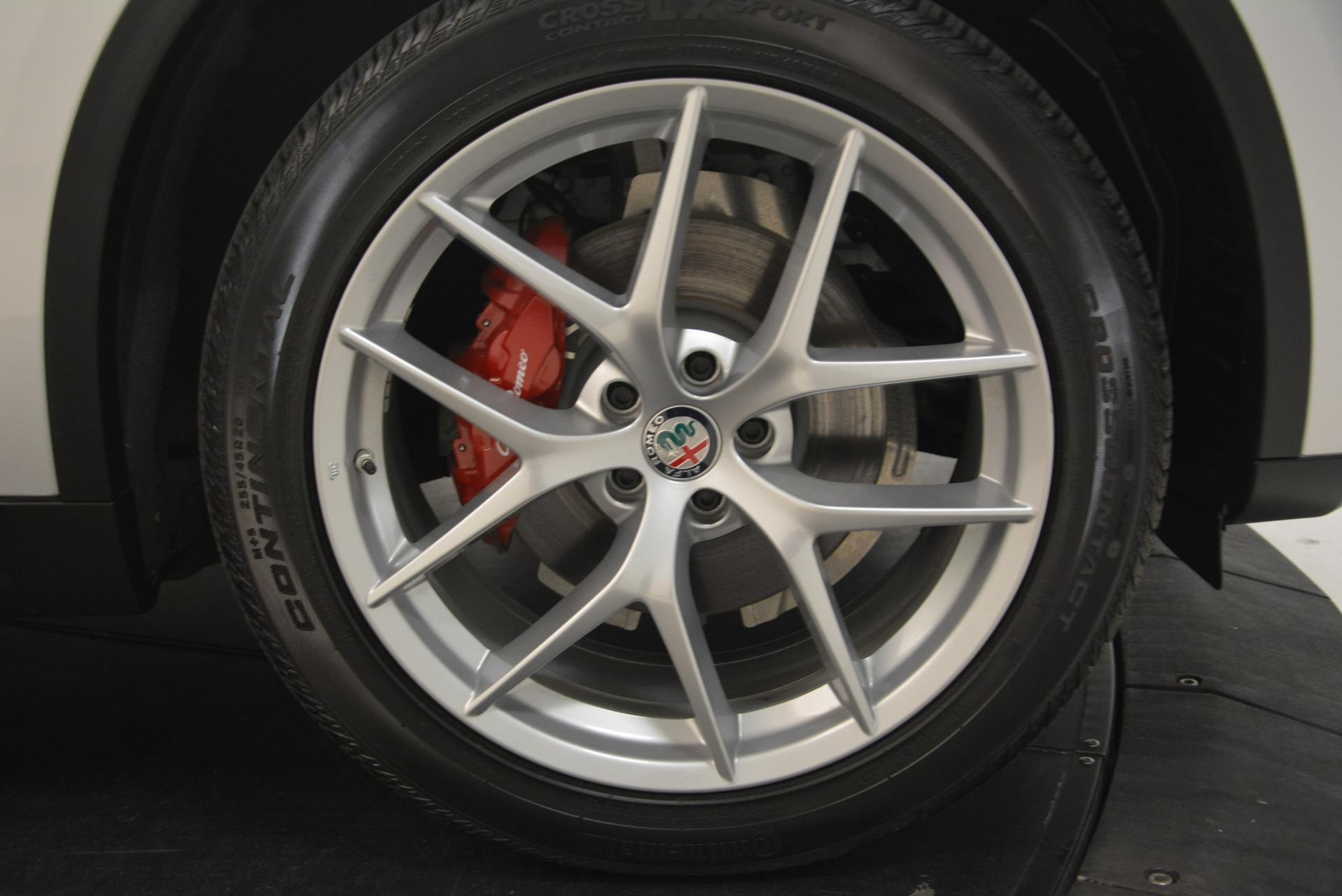 New 2018 Alfa Romeo Stelvio Ti Sport Q4 For Sale In Greenwich, CT 2436_p25