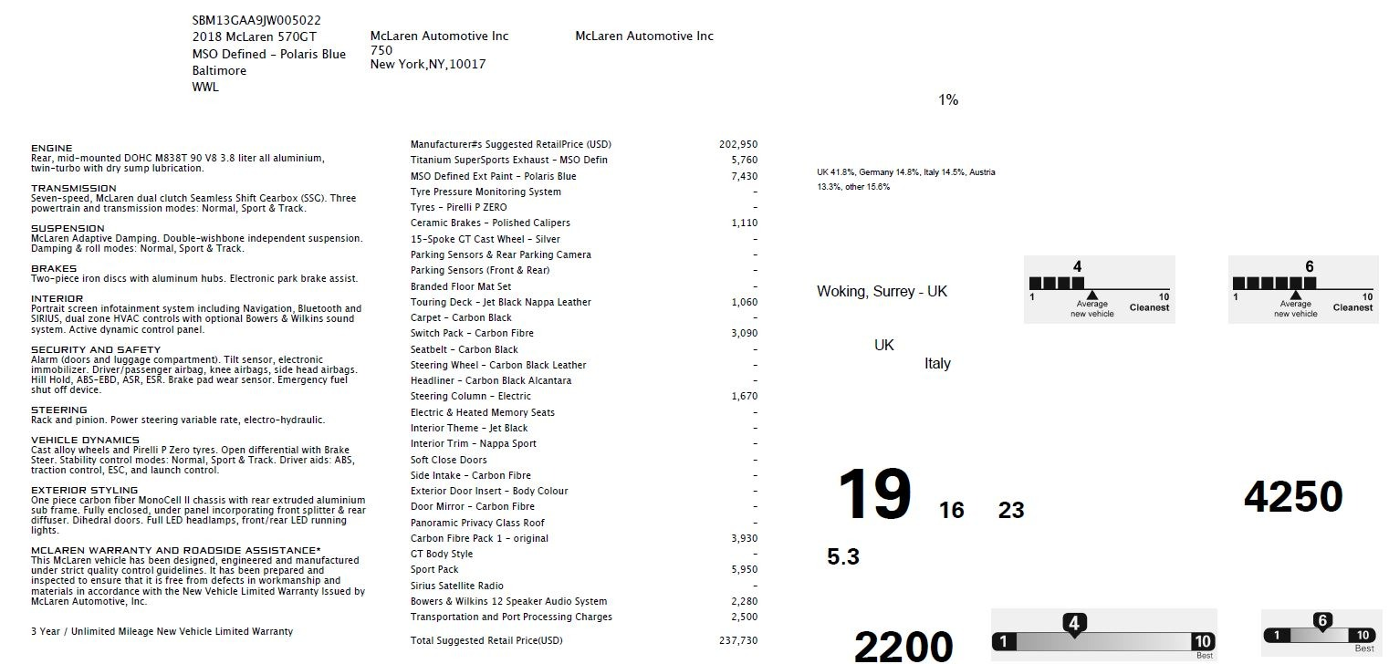 New 2018 McLaren 570GT  For Sale In Greenwich, CT 2441_p7