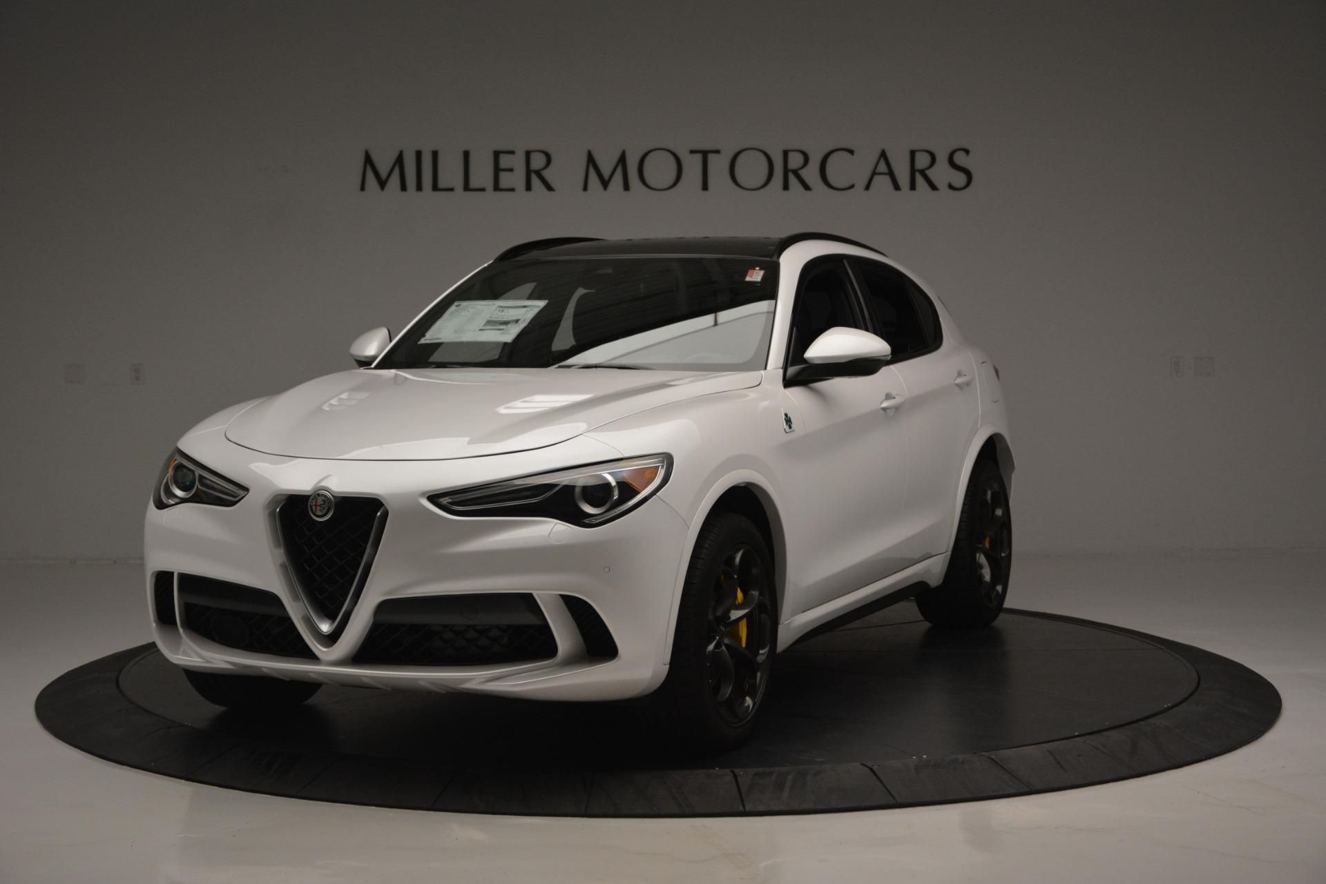 New 2018 Alfa Romeo Stelvio Quadrifoglio Quadrifoglio For Sale In Greenwich, CT 2456_main