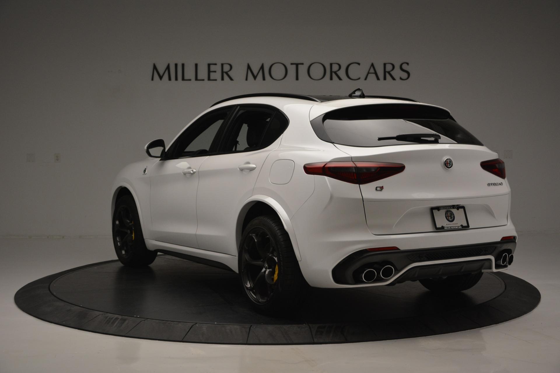 New 2018 Alfa Romeo Stelvio Quadrifoglio Quadrifoglio For Sale In Greenwich, CT 2456_p5