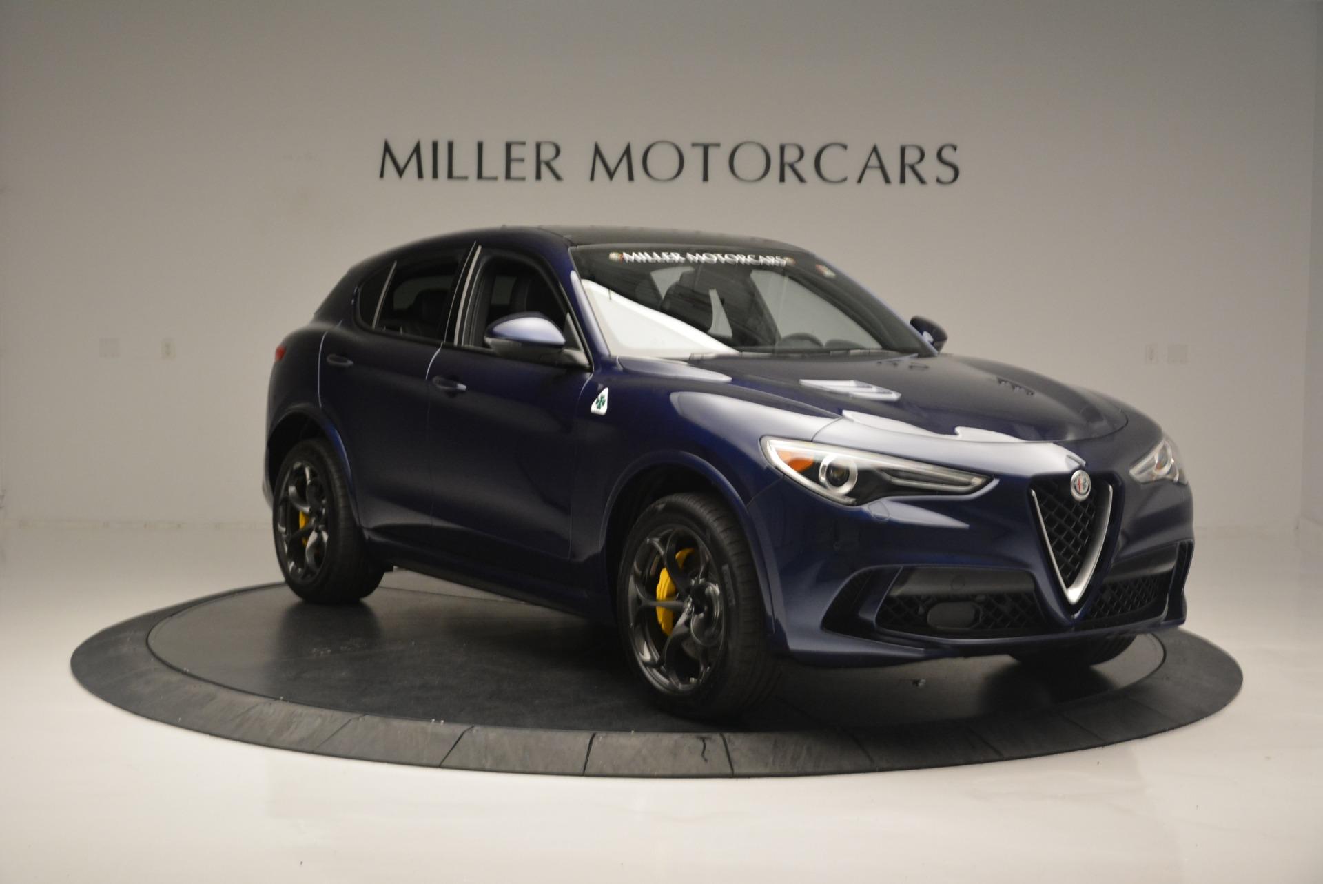 New 2018 Alfa Romeo Stelvio Quadrifoglio For Sale In Greenwich, CT 2458_p11