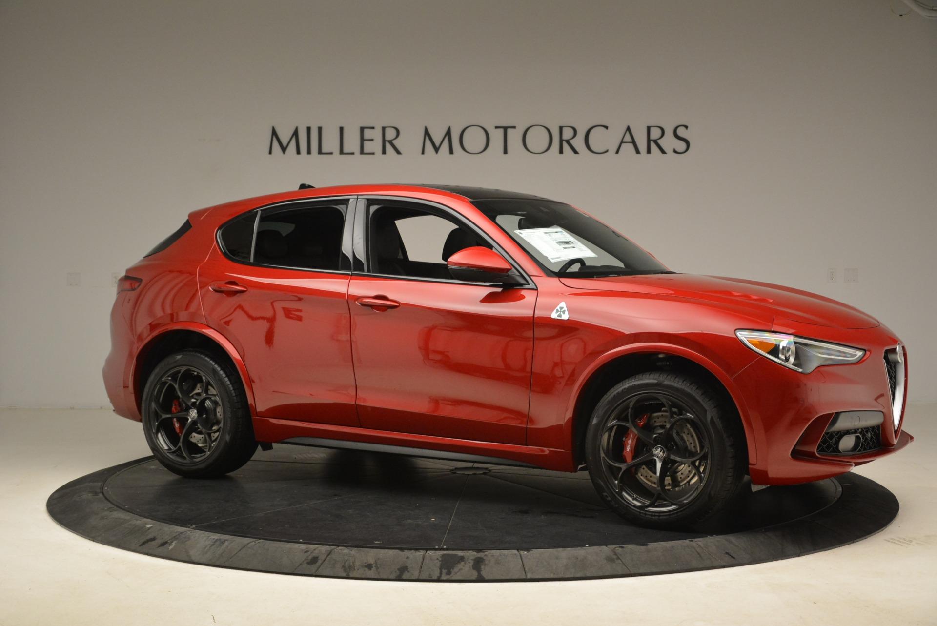 New 2018 Alfa Romeo Stelvio Quadrifoglio For Sale In Greenwich, CT 2459_p10