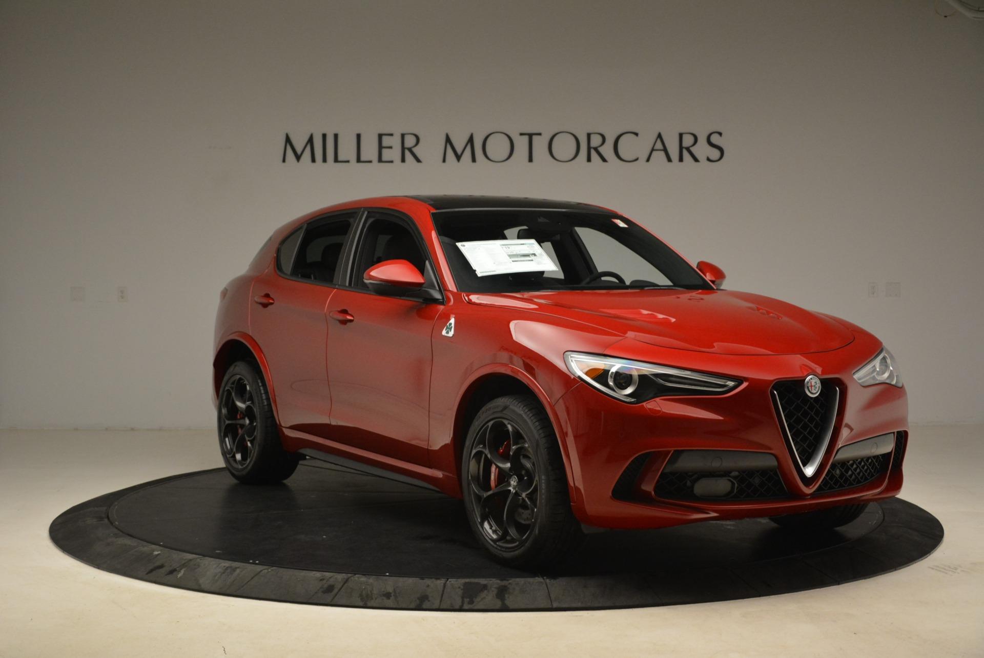 New 2018 Alfa Romeo Stelvio Quadrifoglio For Sale In Greenwich, CT 2459_p11