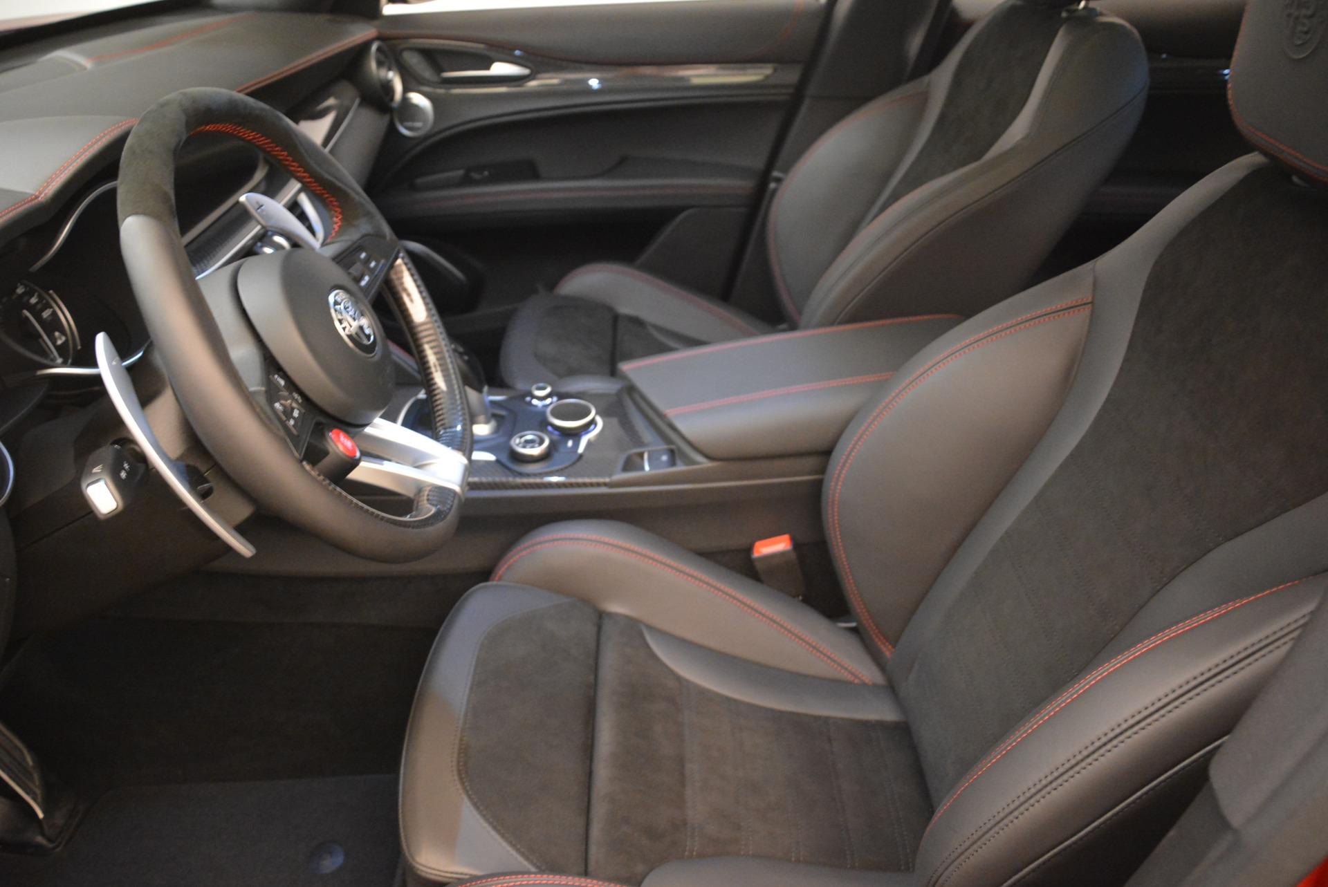 New 2018 Alfa Romeo Stelvio Quadrifoglio For Sale In Greenwich, CT 2459_p14