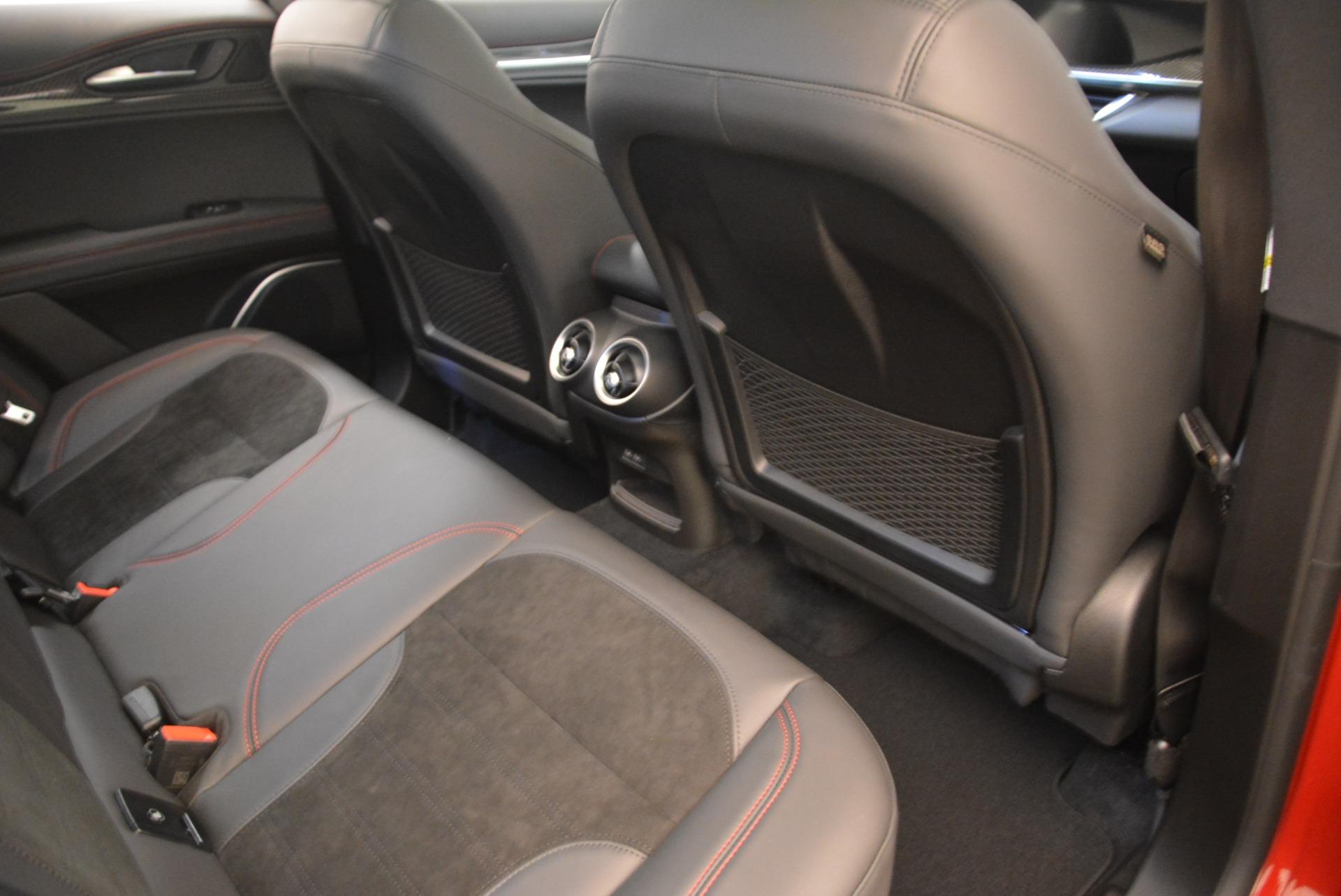 New 2018 Alfa Romeo Stelvio Quadrifoglio For Sale In Greenwich, CT 2459_p22