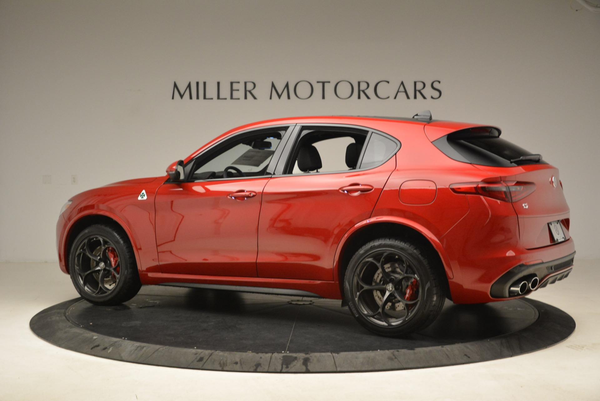 New 2018 Alfa Romeo Stelvio Quadrifoglio For Sale In Greenwich, CT 2459_p4