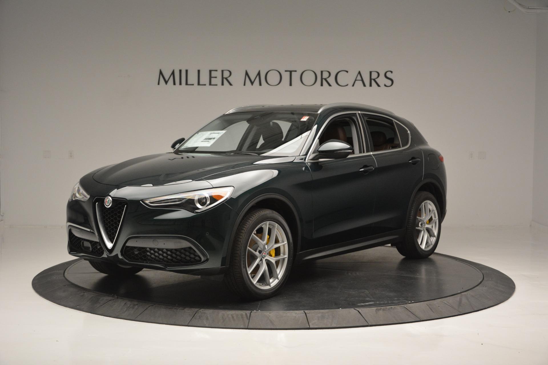 New 2018 Alfa Romeo Stelvio Ti Lusso Q4 For Sale In Greenwich, CT 2482_p2