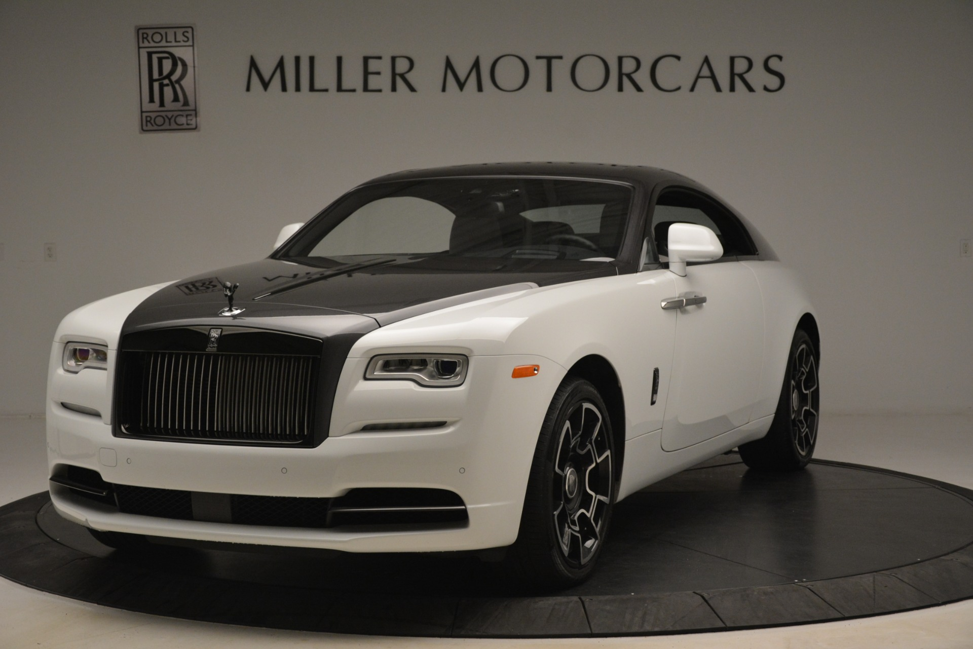 Used 2018 Rolls-Royce Wraith Black Badge Nebula Collection For Sale In Greenwich, CT 2491_main