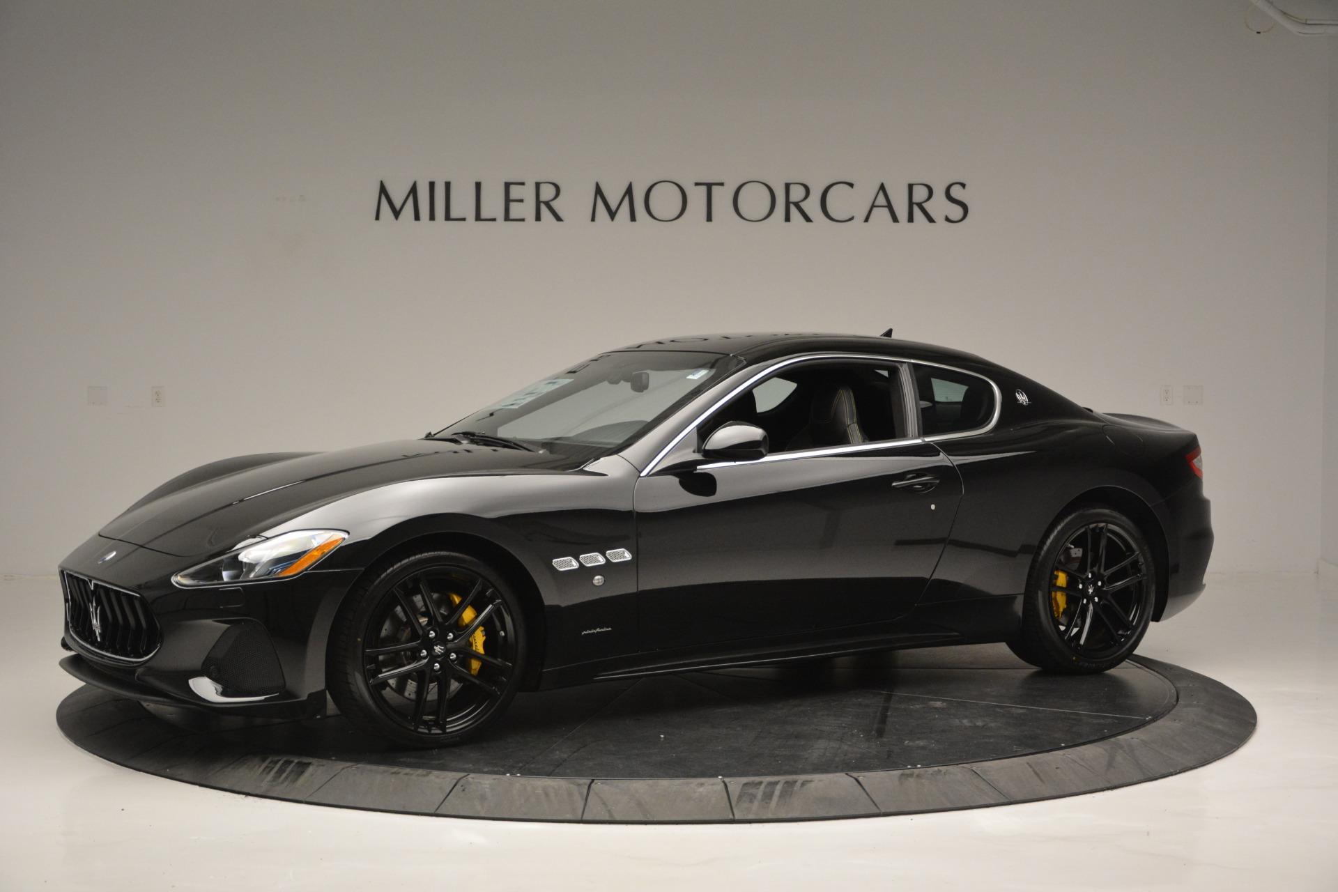 New 2018 Maserati GranTurismo Sport For Sale In Greenwich, CT 2513_p2