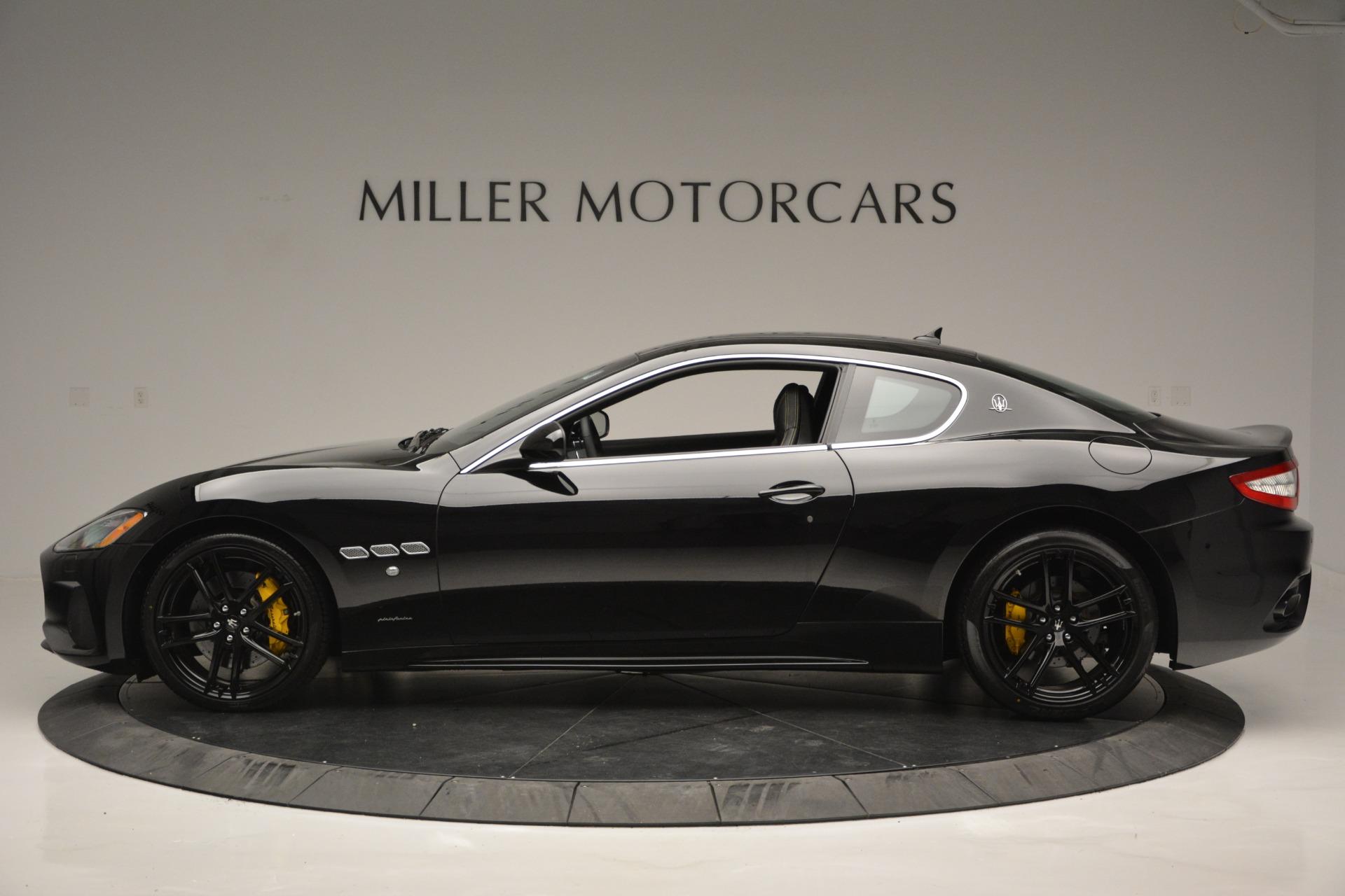New 2018 Maserati GranTurismo Sport For Sale In Greenwich, CT 2513_p3
