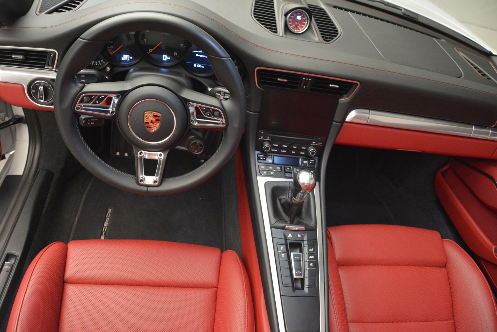 Used 2017 Porsche 911 Targa 4S For Sale In Greenwich, CT 2593_p14