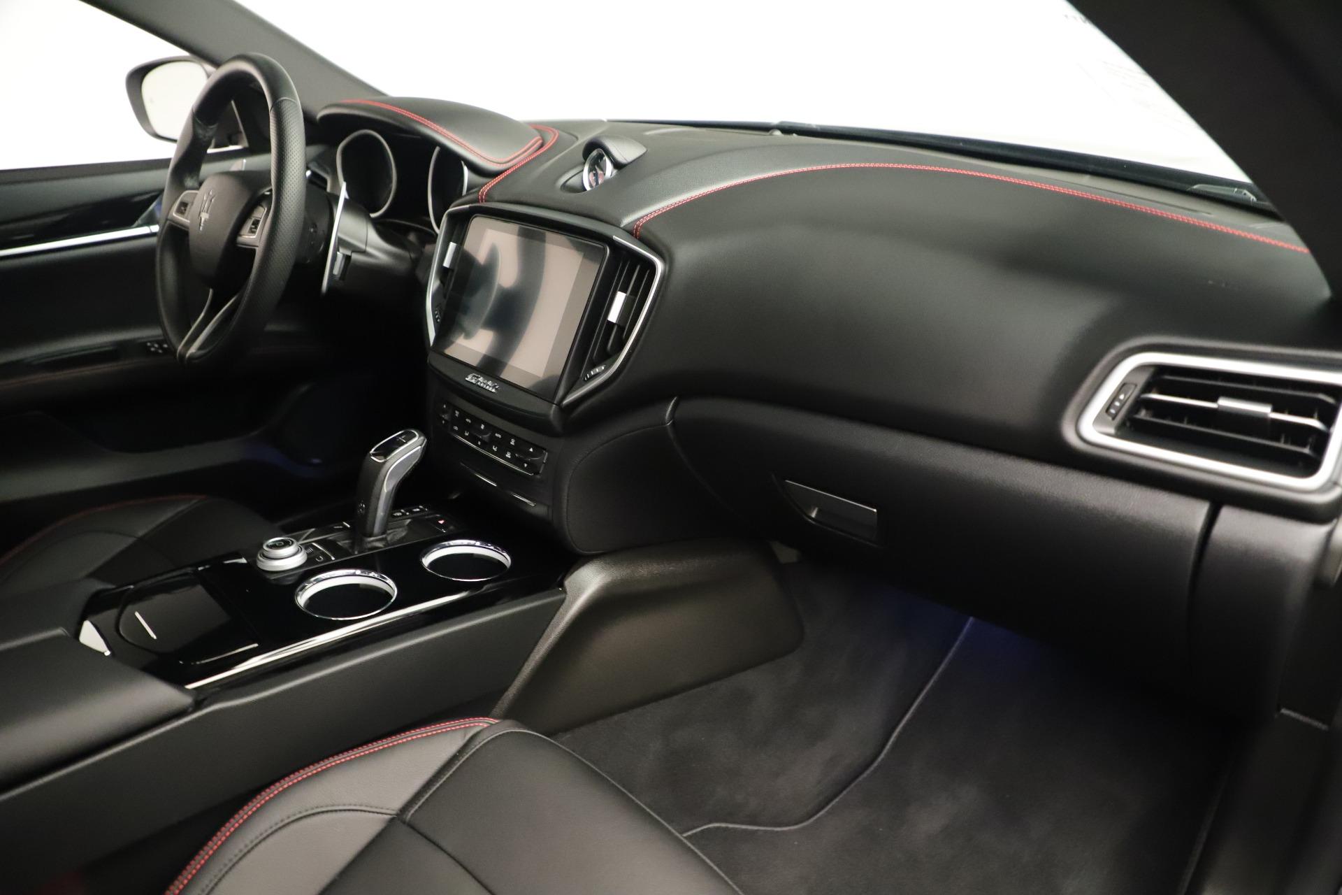 New 2019 Maserati Ghibli S Q4 GranSport For Sale In Greenwich, CT 2615_p22
