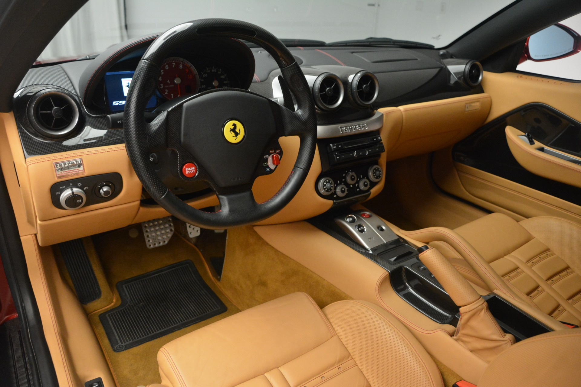 Used 2009 Ferrari 599 GTB Fiorano  For Sale In Greenwich, CT 2617_p13