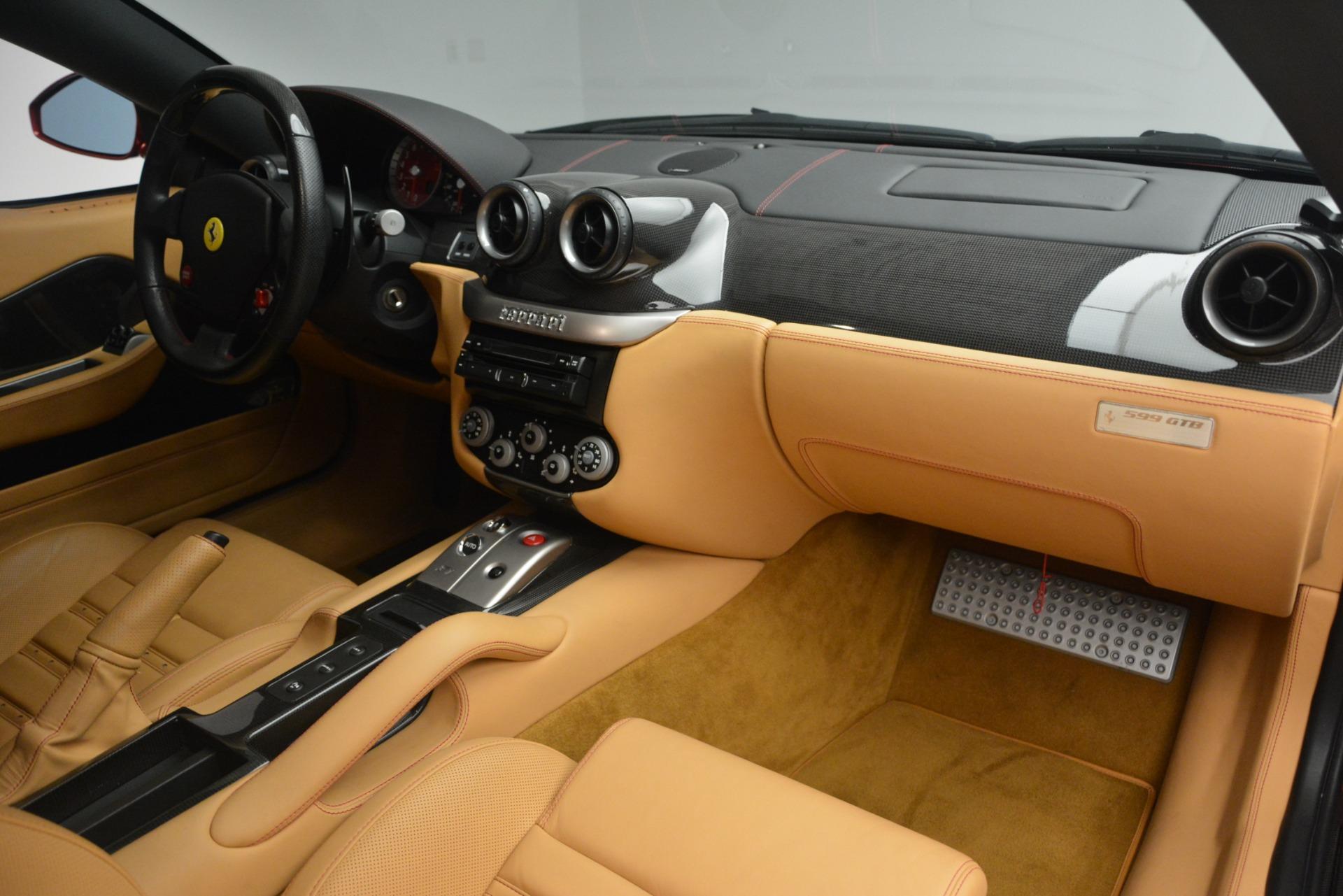 Used 2009 Ferrari 599 GTB Fiorano  For Sale In Greenwich, CT 2617_p17