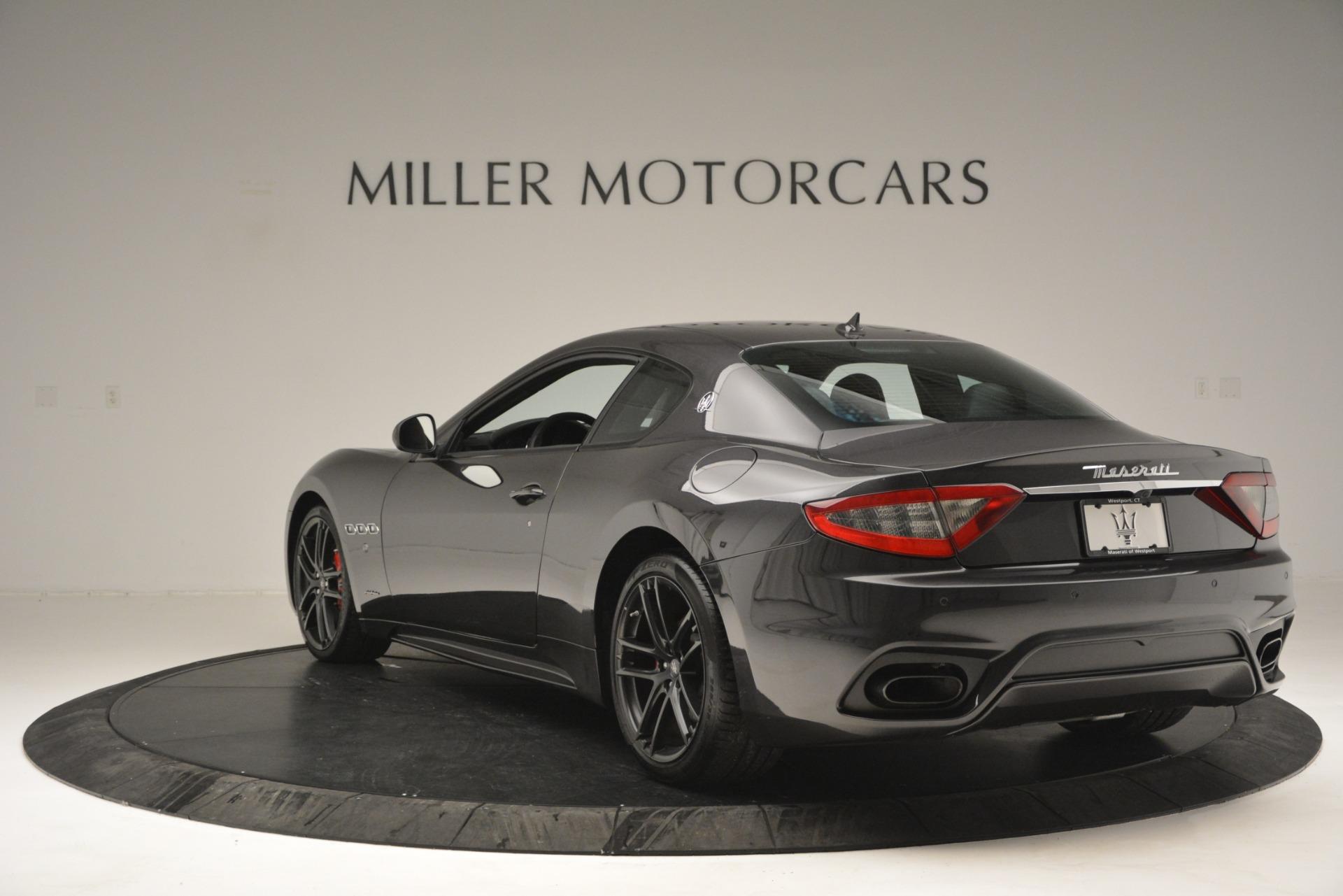 New 2018 Maserati GranTurismo Sport For Sale In Greenwich, CT 2621_p5