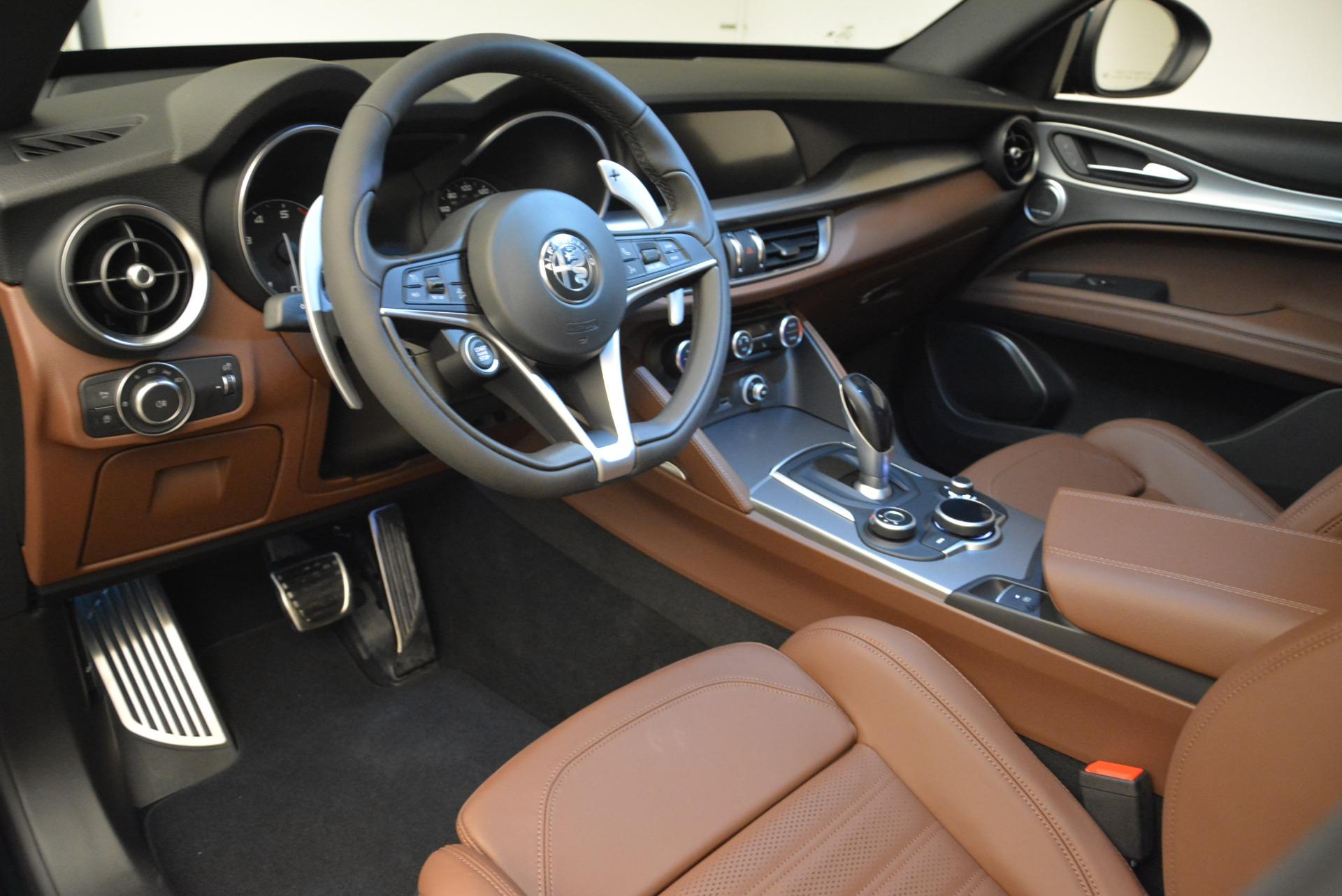 New 2018 Alfa Romeo Stelvio Ti Sport Q4 For Sale In Greenwich, CT 2628_p13
