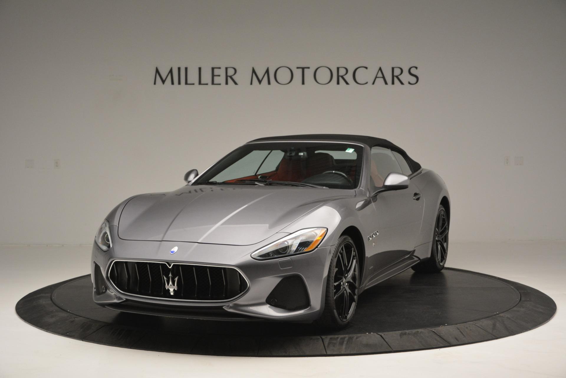Used 2018 Maserati GranTurismo Sport For Sale In Greenwich, CT 2637_p10