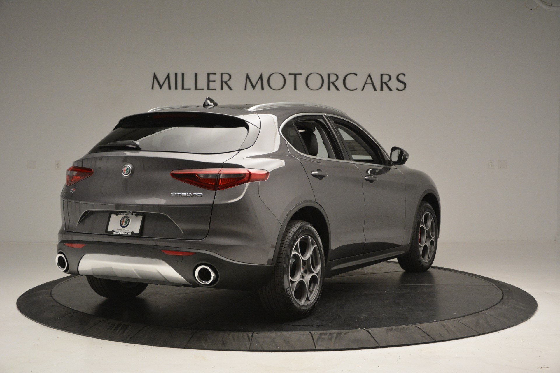 New 2019 Alfa Romeo Stelvio Q4 For Sale In Greenwich, CT 2653_p9