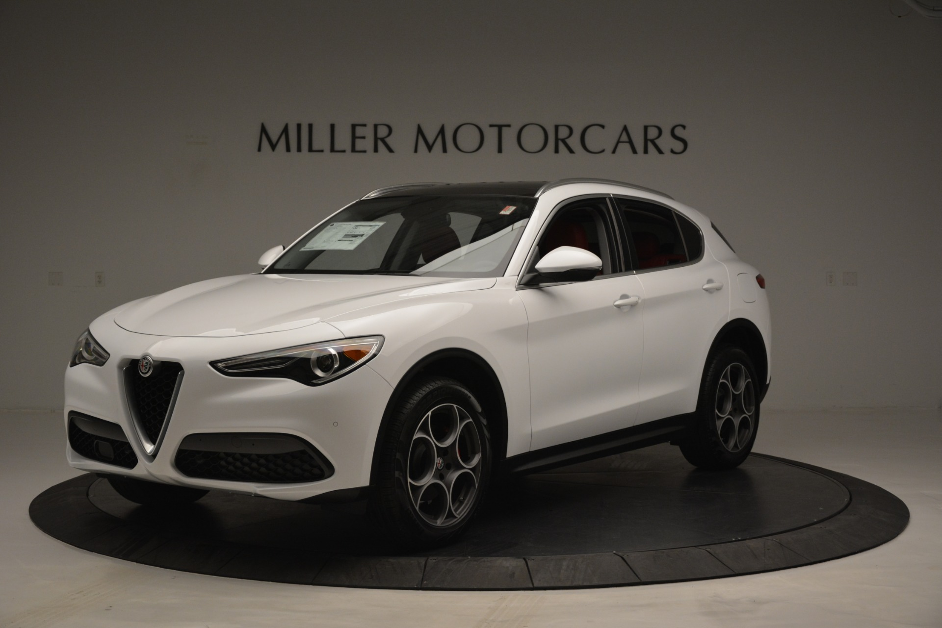 New 2019 Alfa Romeo Stelvio Q4 For Sale In Greenwich, CT 2657_main