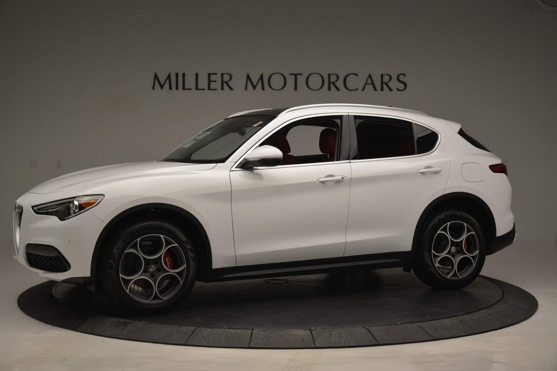 New 2019 Alfa Romeo Stelvio Q4 For Sale In Greenwich, CT 2657_p2