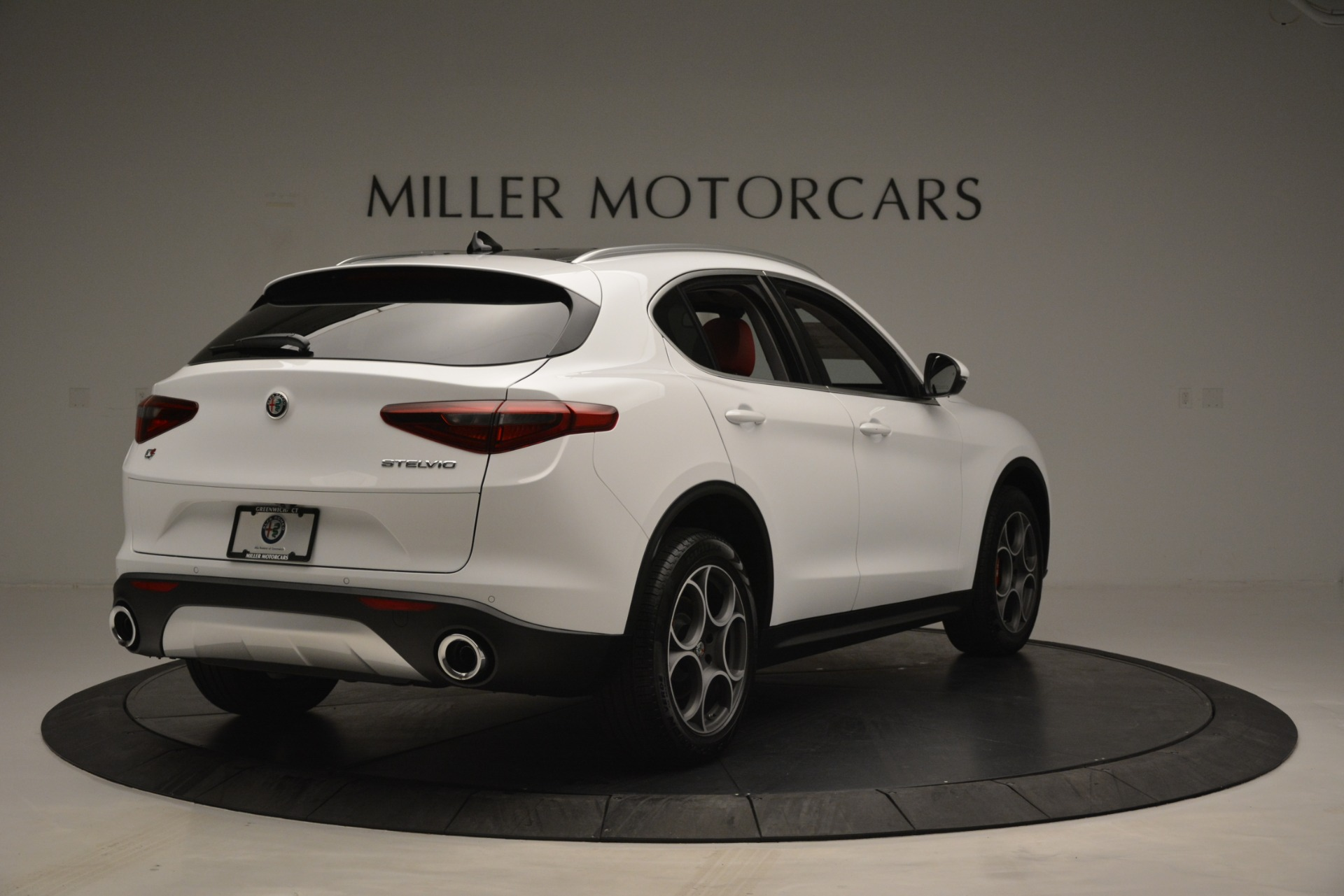 New 2019 Alfa Romeo Stelvio Q4 For Sale In Greenwich, CT 2657_p7
