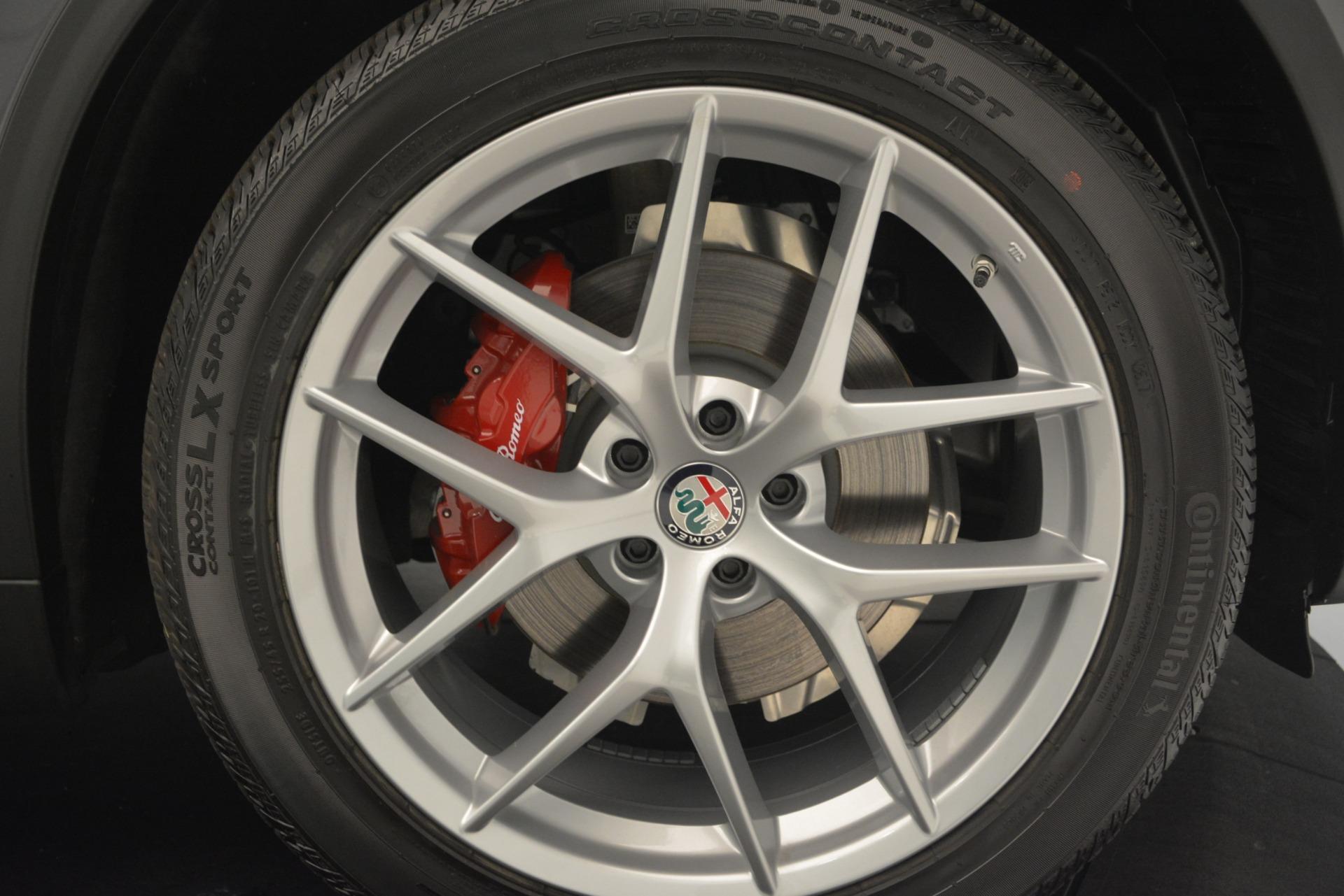 New 2019 Alfa Romeo Stelvio Ti Sport Q4 For Sale In Greenwich, CT 2668_p25