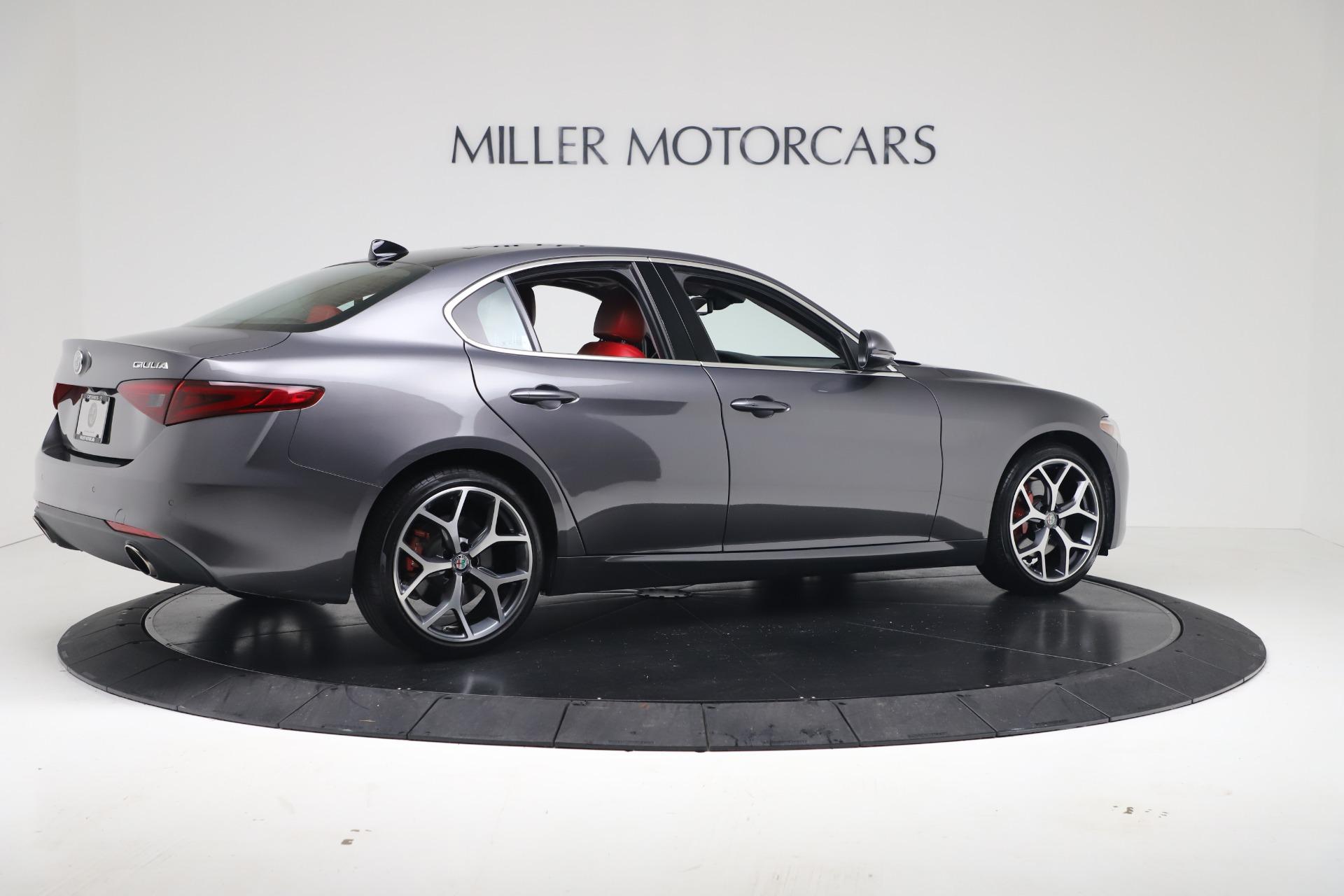 New 2019 Alfa Romeo Giulia Q4 For Sale In Greenwich, CT 2669_p8