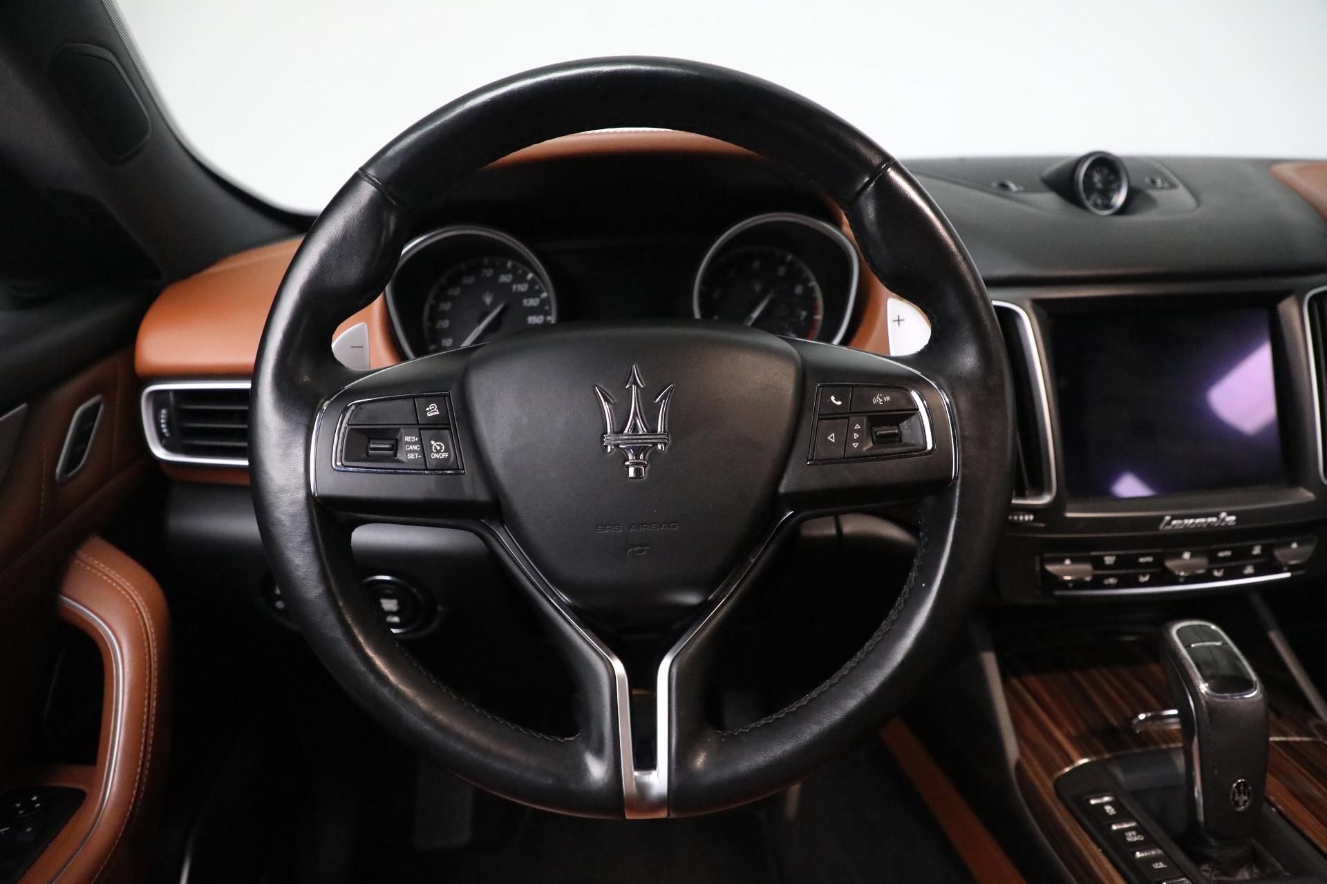 New 2019 Maserati Levante Q4 GranLusso For Sale In Greenwich, CT 2678_p16