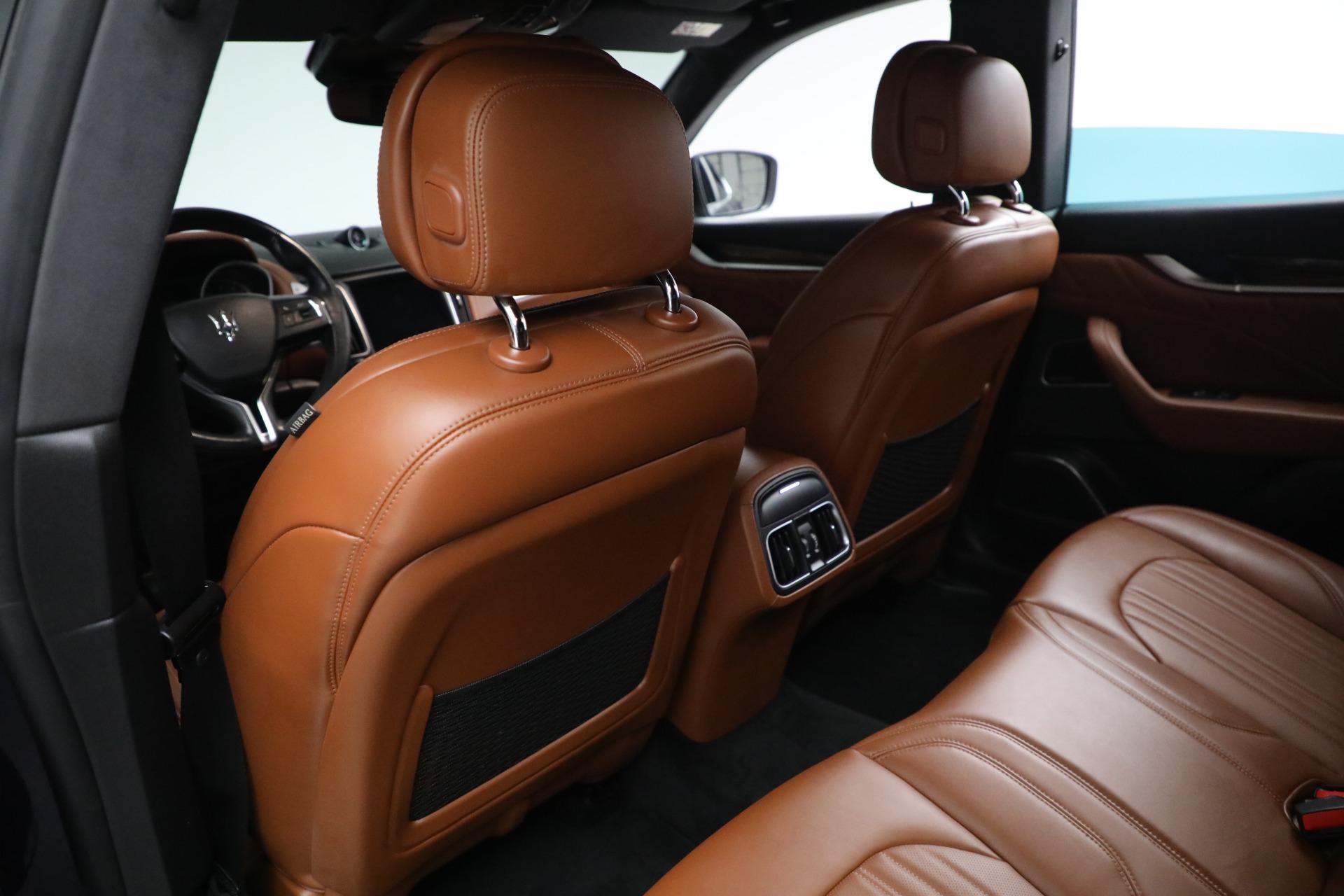 New 2019 Maserati Levante Q4 GranLusso For Sale In Greenwich, CT 2678_p18