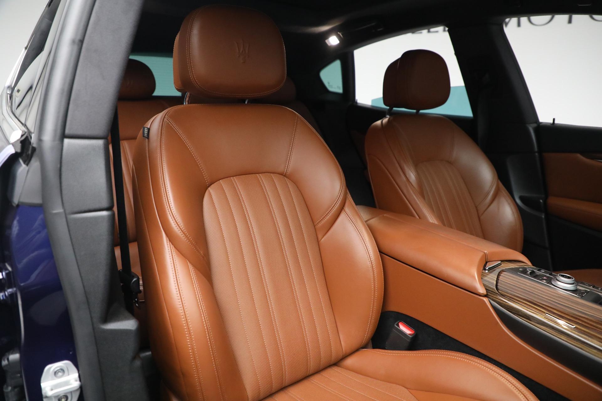 New 2019 Maserati Levante Q4 GranLusso For Sale In Greenwich, CT 2678_p21
