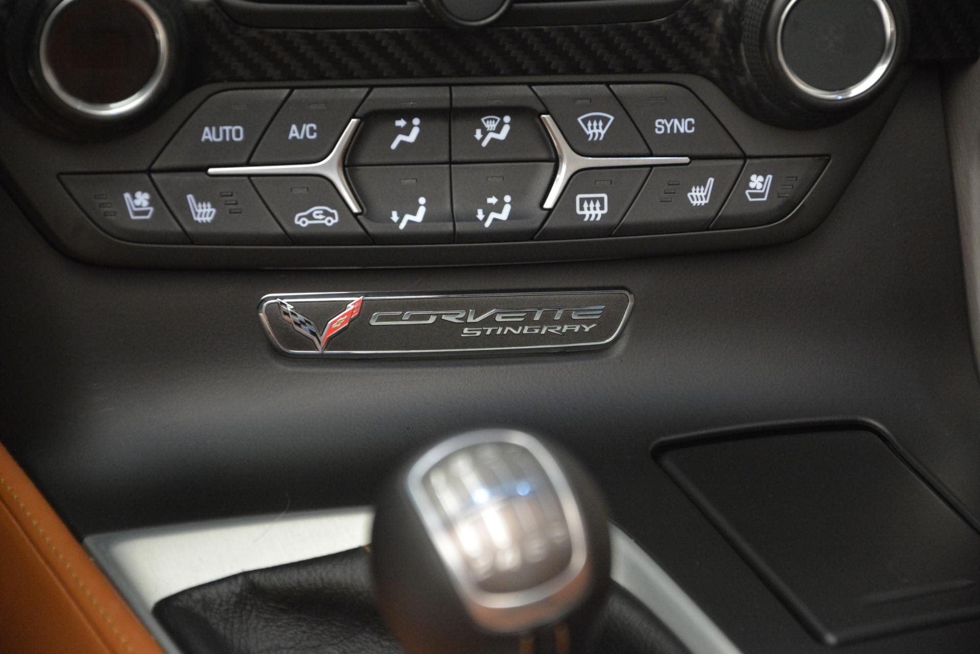 Used 2014 Chevrolet Corvette Stingray Z51 For Sale In Greenwich, CT 2703_p23