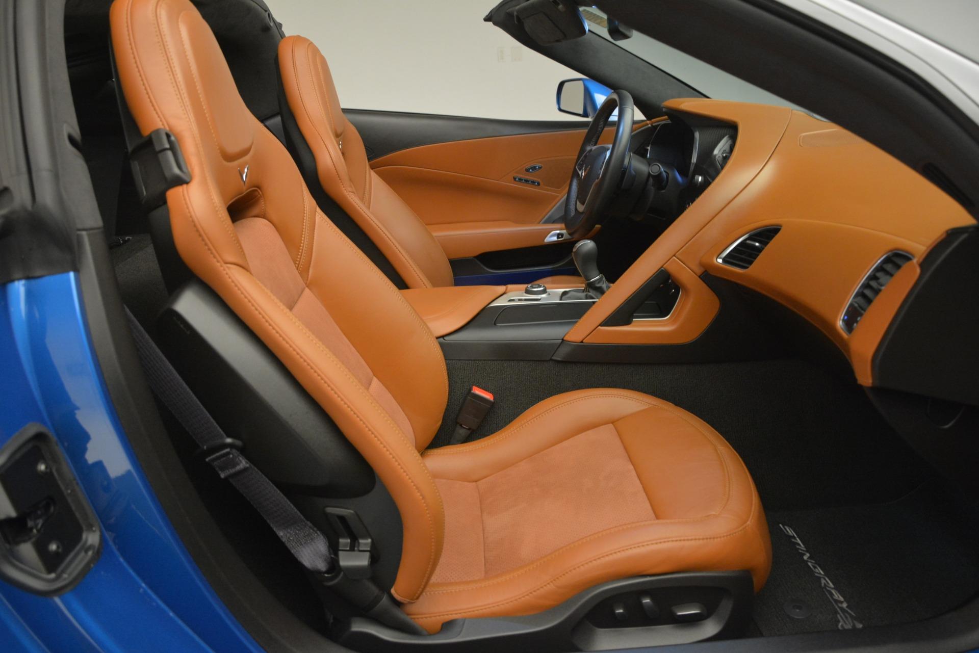 Used 2014 Chevrolet Corvette Stingray Z51 For Sale In Greenwich, CT 2703_p26