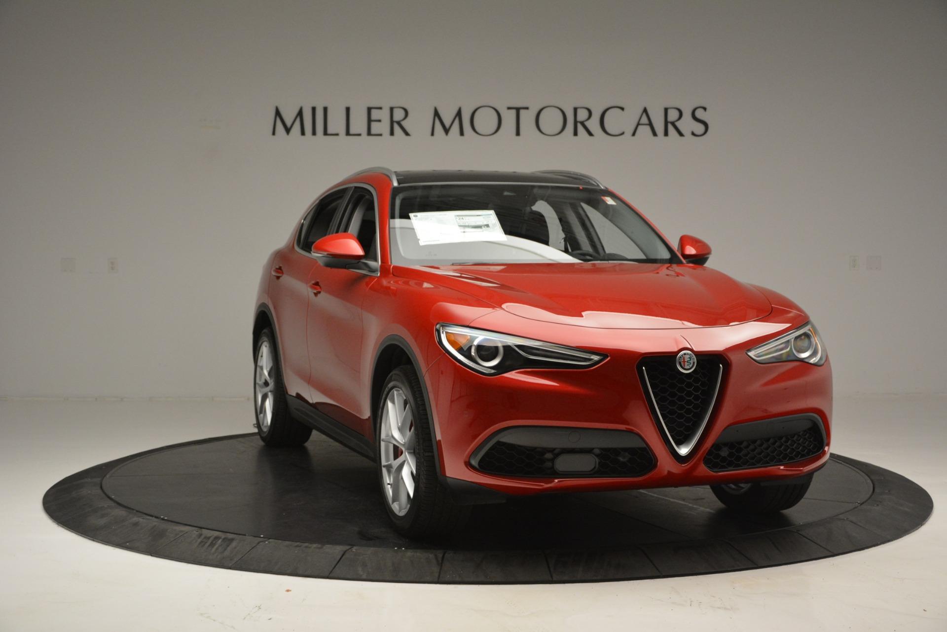 New 2018 Alfa Romeo Stelvio Ti Lusso Q4 For Sale In Greenwich, CT 2704_p11