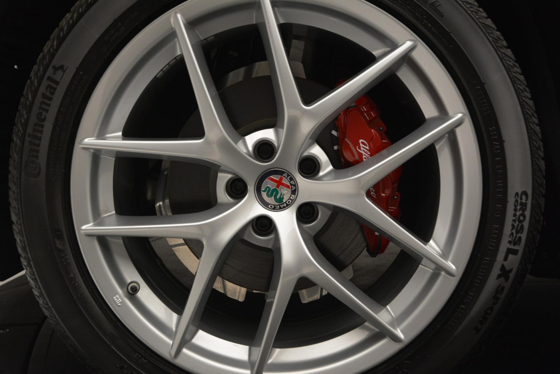 New 2018 Alfa Romeo Stelvio Ti Lusso Q4 For Sale In Greenwich, CT 2704_p25