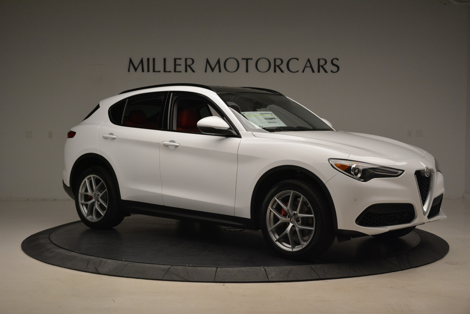 New 2019 Alfa Romeo Stelvio Ti Sport Q4 For Sale In Greenwich, CT 2713_p10