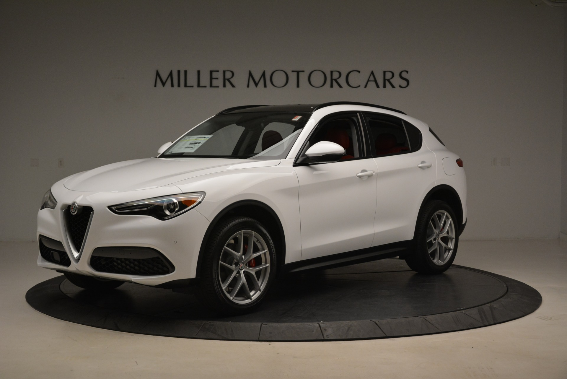 New 2019 Alfa Romeo Stelvio Ti Sport Q4 For Sale In Greenwich, CT 2713_p2