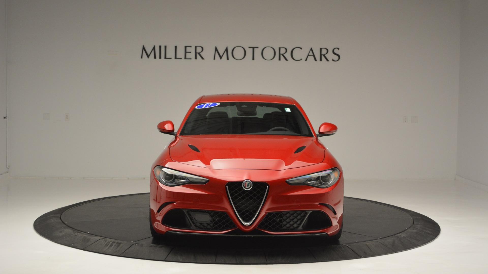 Used 2017 Alfa Romeo Giulia Quadrifoglio  For Sale In Greenwich, CT 2733_p13