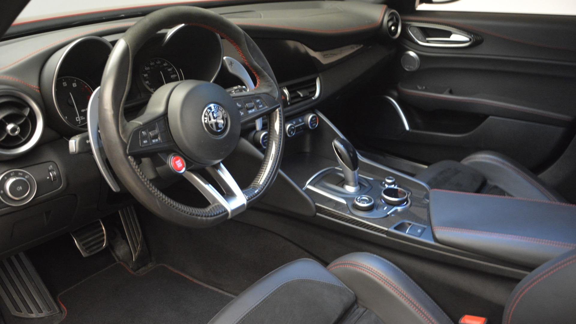 Used 2017 Alfa Romeo Giulia Quadrifoglio  For Sale In Greenwich, CT 2733_p17